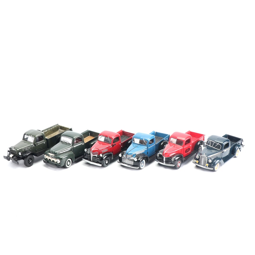 Die-Cast Vintage Pickup Trucks by Franklin Mint and Danbury Mint