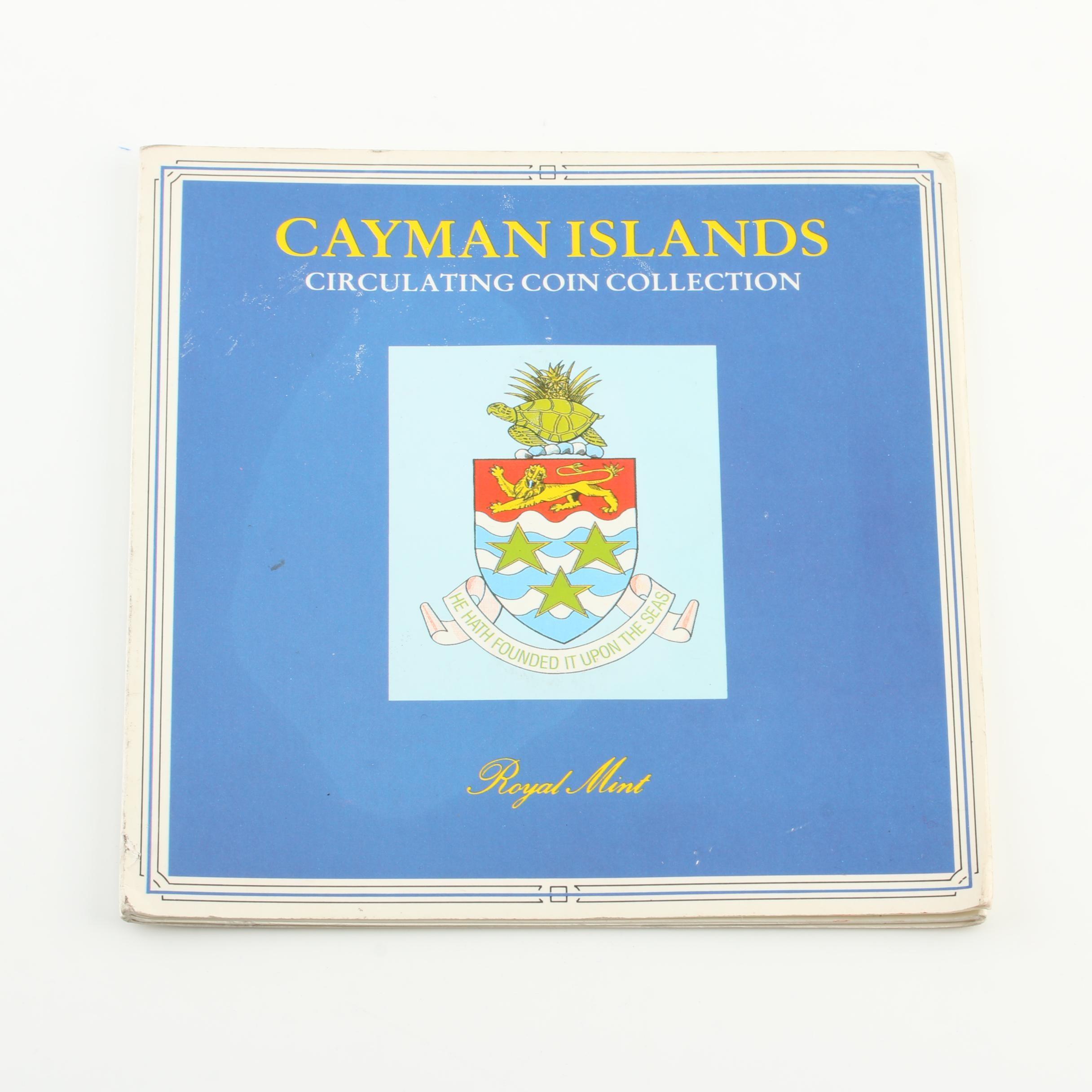 1987 Cayman Islands Circulating Coin Collection Set