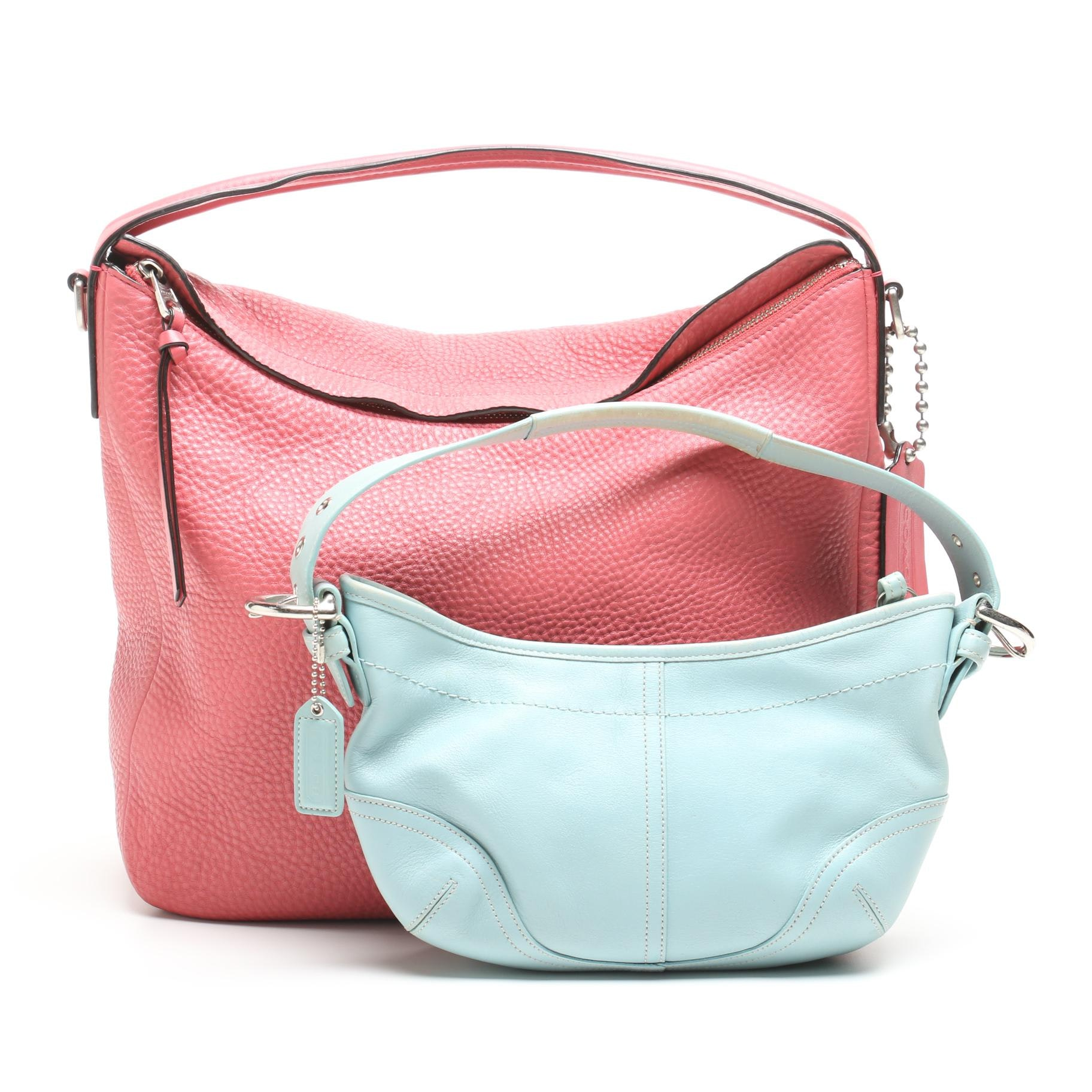 coach bleecker pebbled leather sullivan hobo bag and soho small demi rh ebth com