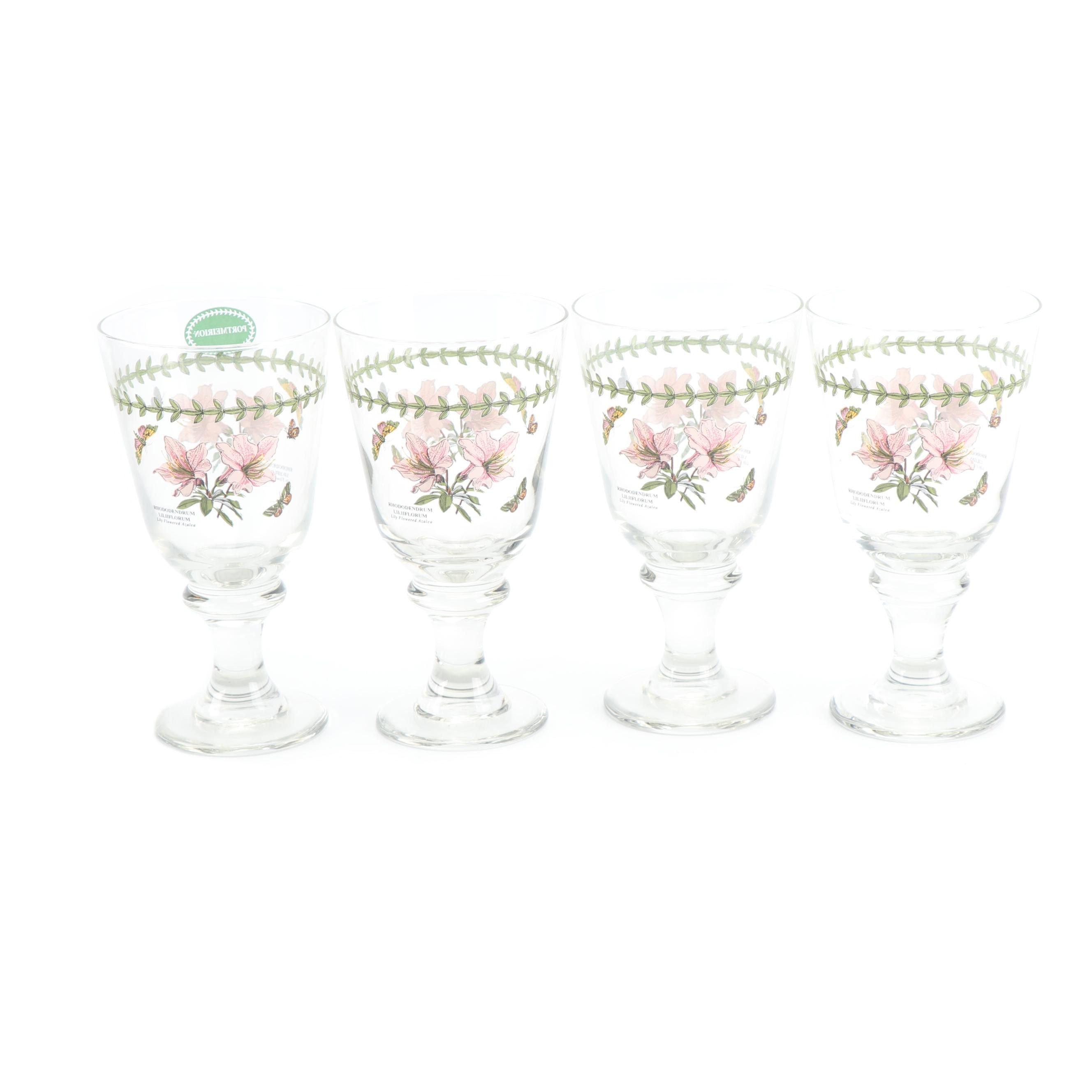 """Portmeirion """"Botanic Garden"""" All Purposes Glasses"""