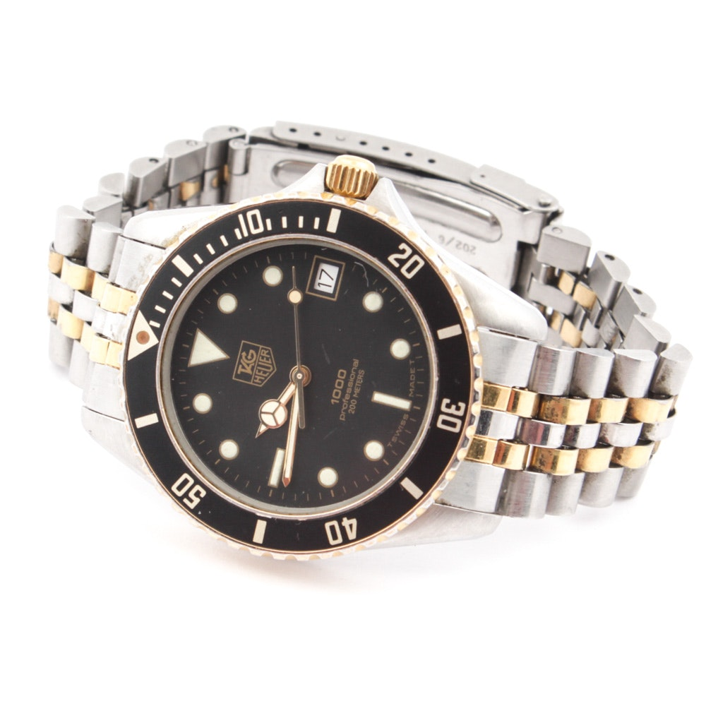 TAG Heuer 1000 Series Professional Wristwatch