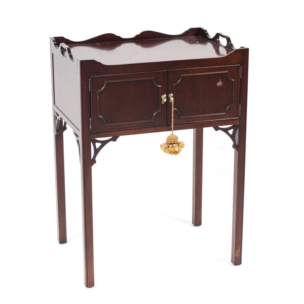 Councill Craftsmen Sheraton-Style Storage Table