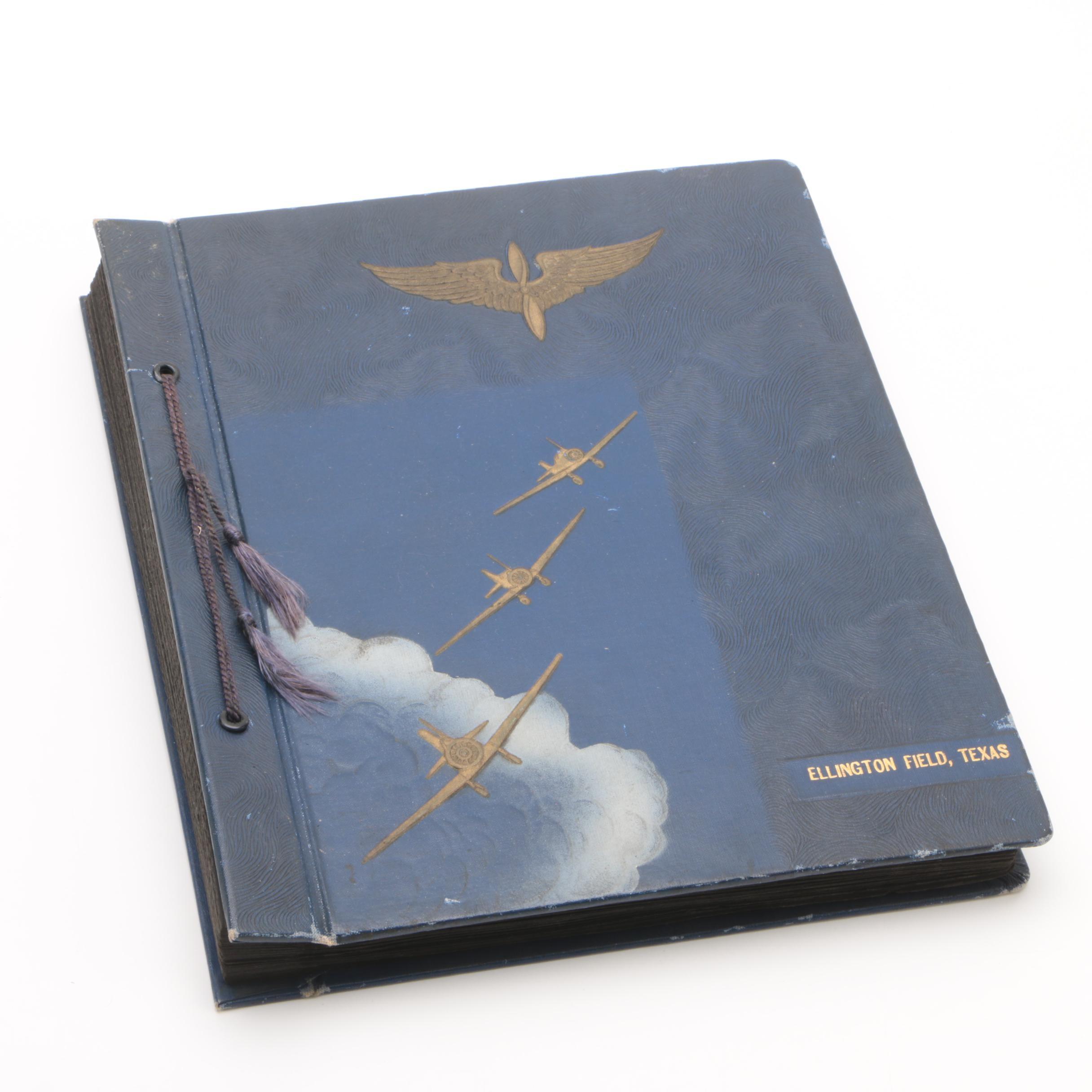 Air Force Scrapbook Ellington Field, Texas