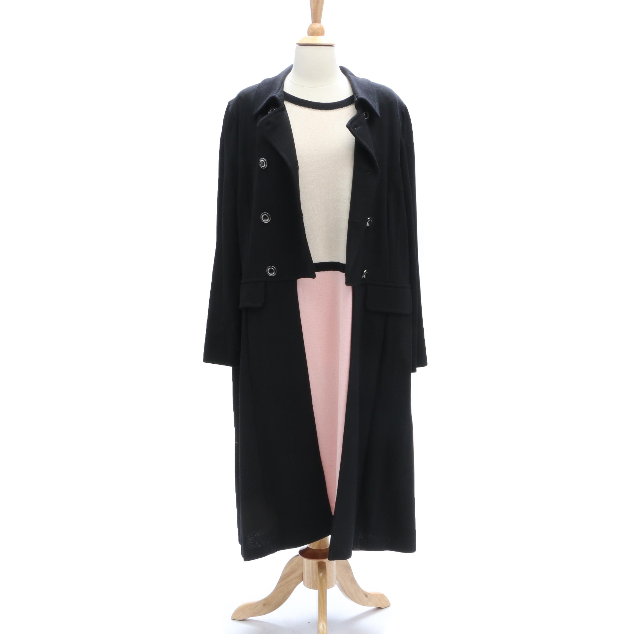 St. John Jacket and St. John by Marie Gray Dress