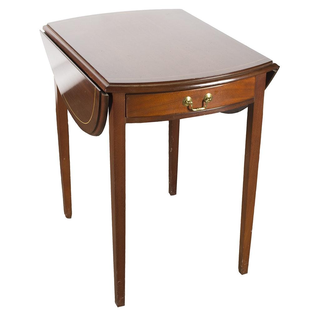Mahogany Pembroke Style Side Table