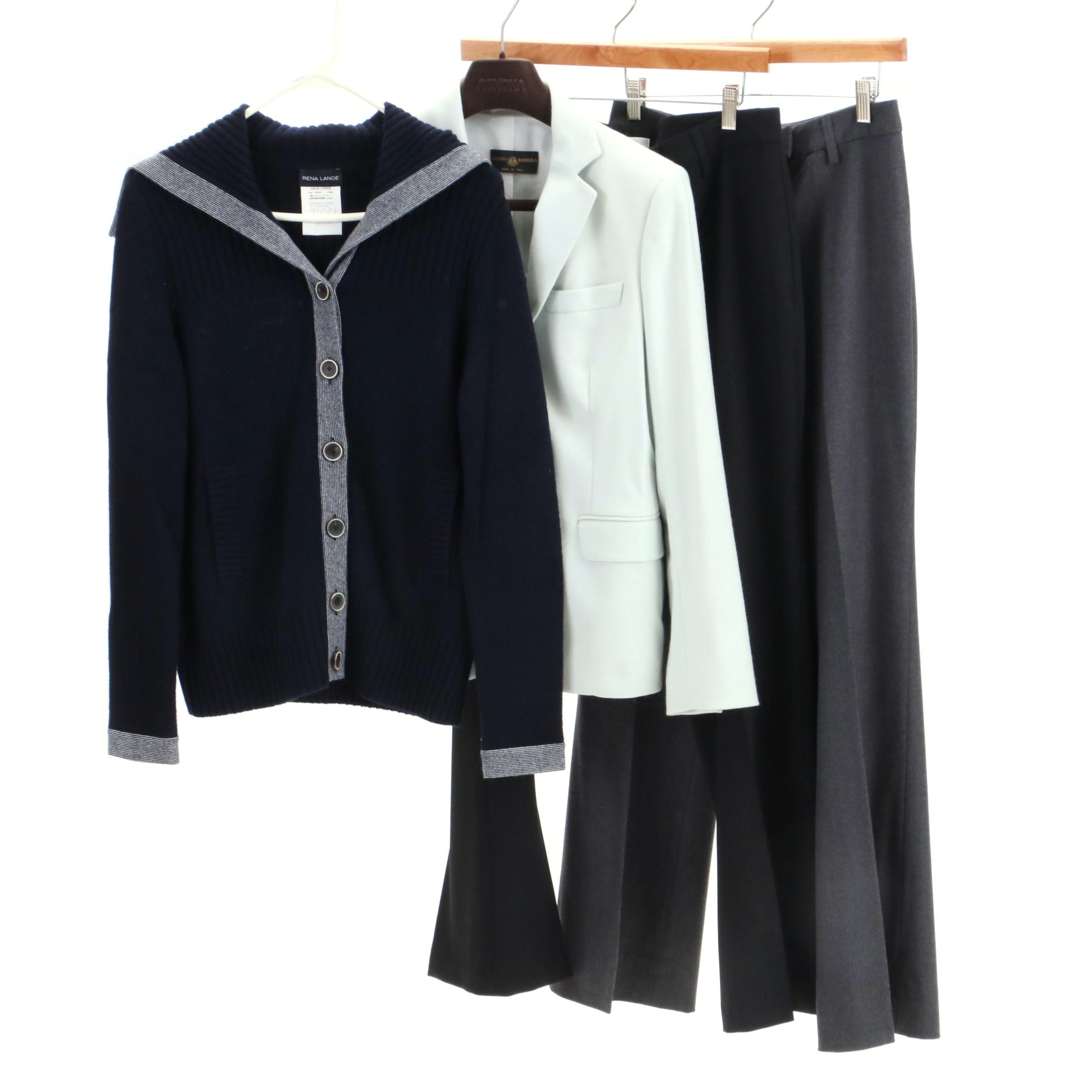 Luciano Barbera Cashmere Jacket and Other Clothing Separates