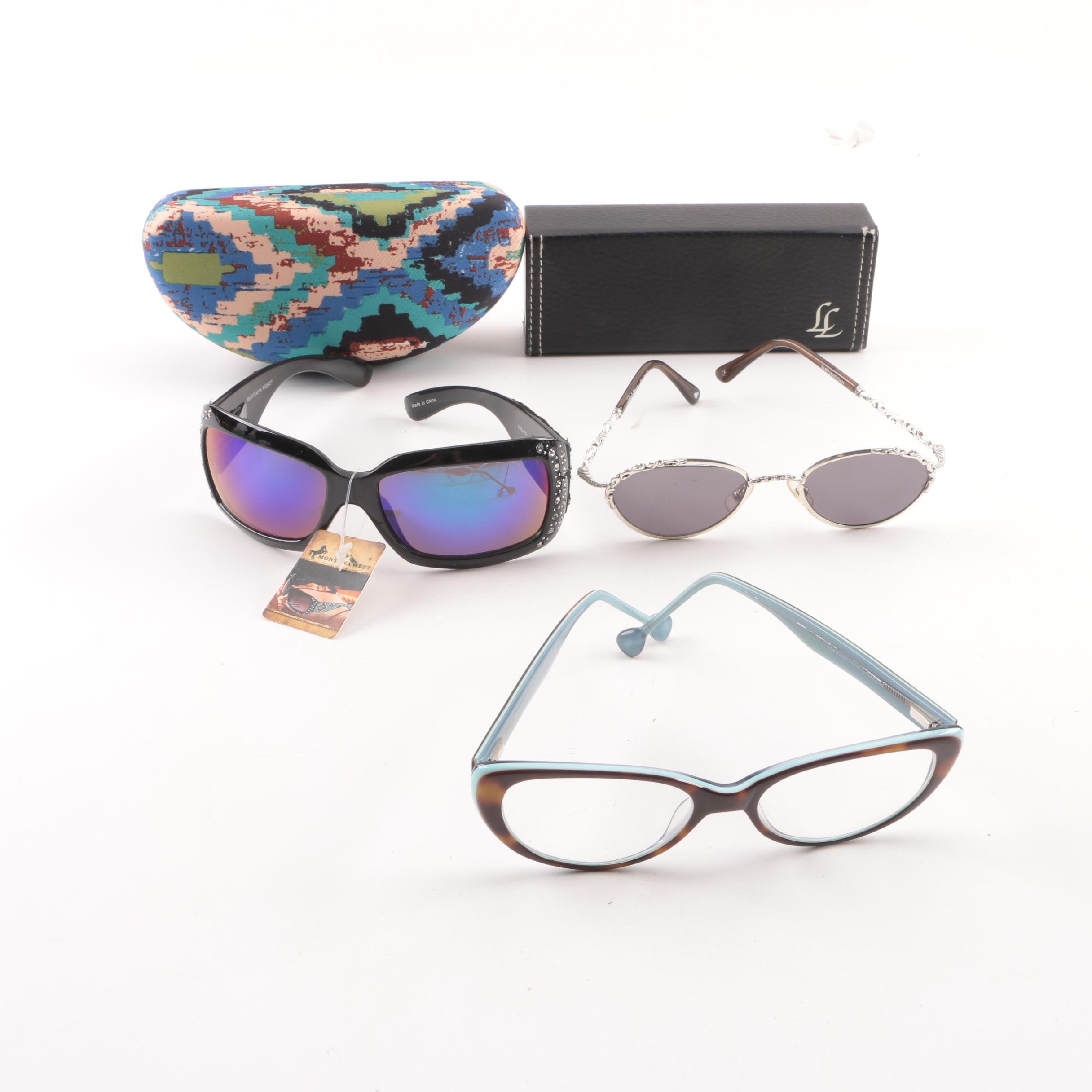 Montana West, Brighton, and Lisa Loeb Sunglasses and Eyeglasses