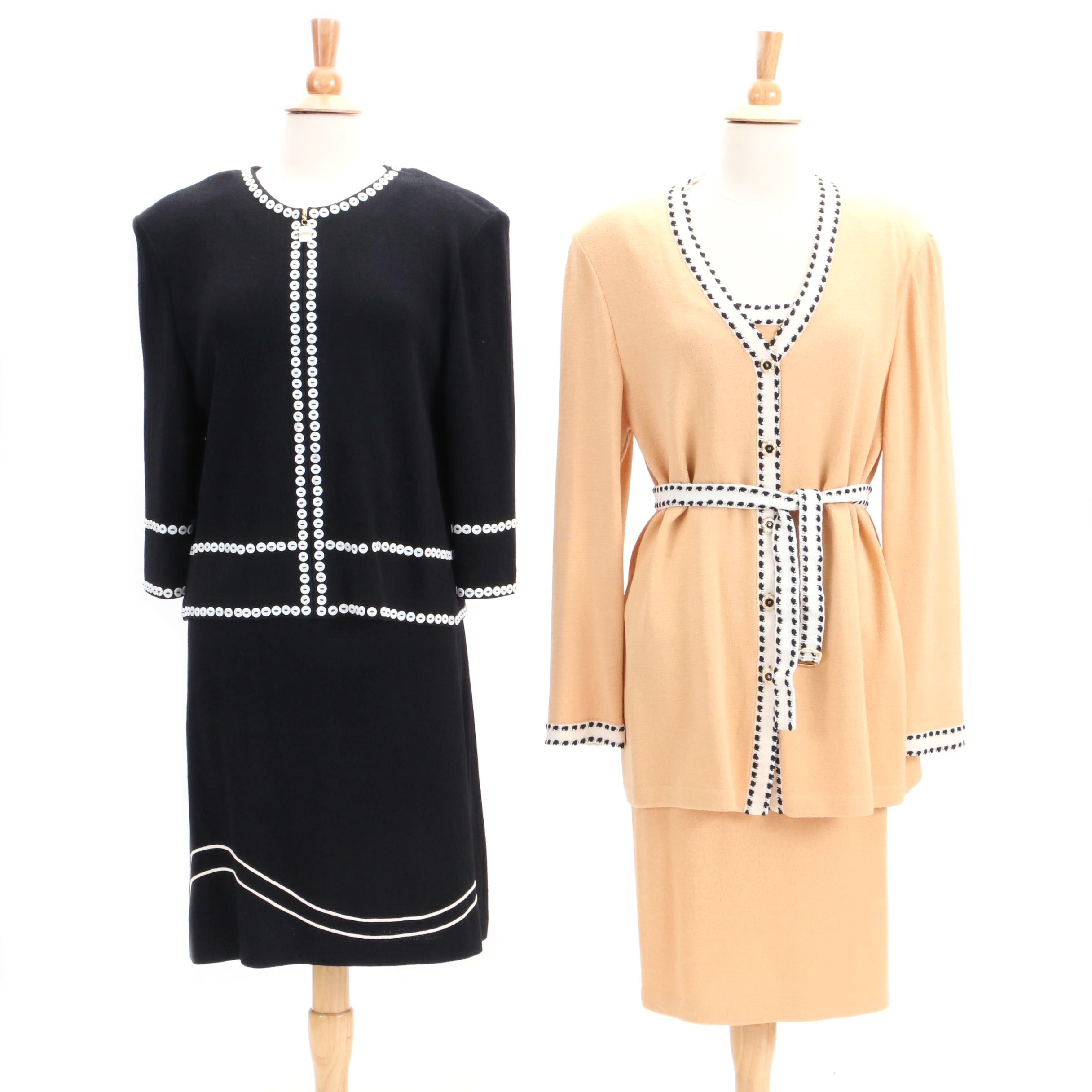 St. John Collection by Marie Gray Knit Skirt Suits