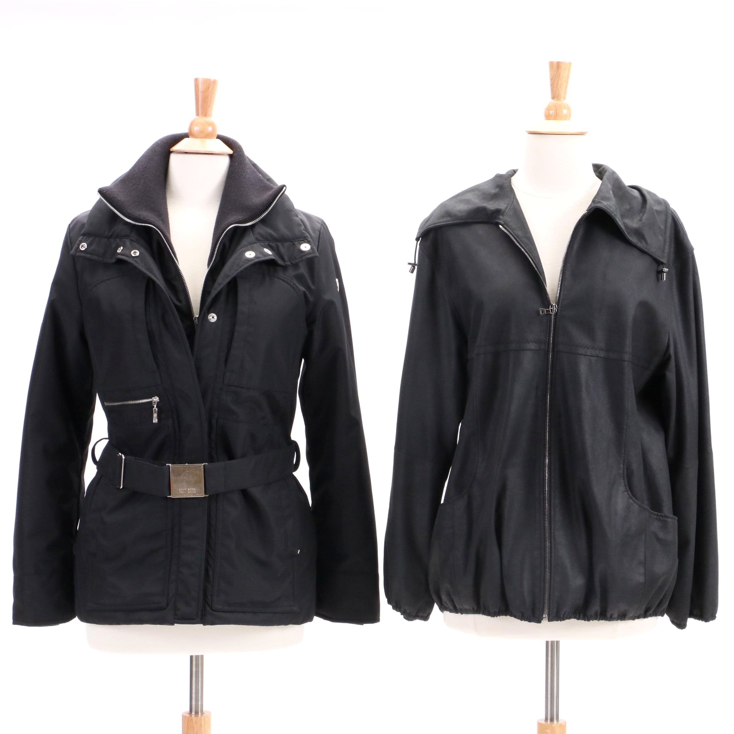 Women's Christ Leather Jacket and Post Card Coat