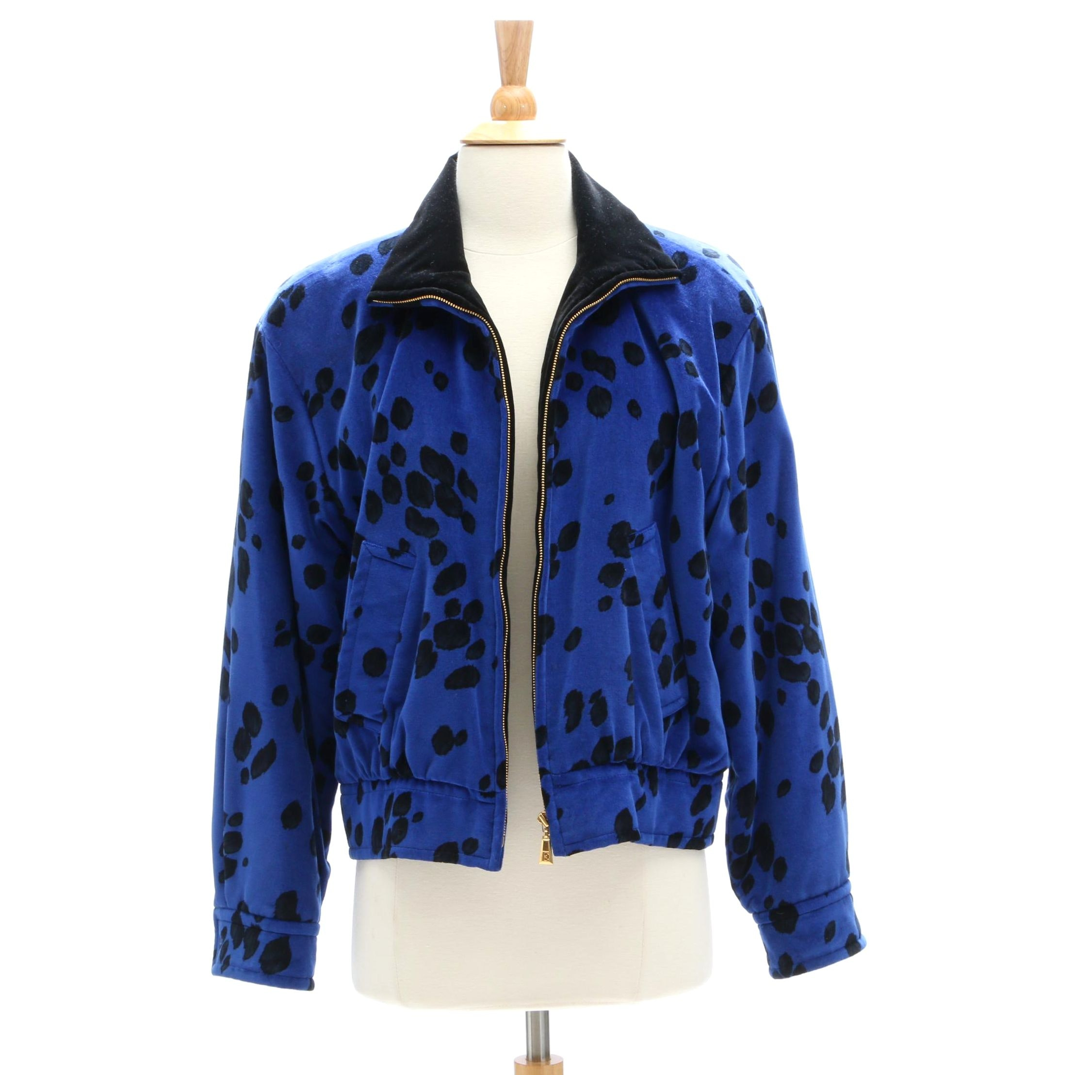 Escada Margaretha Ley Cheetah Print Jacket