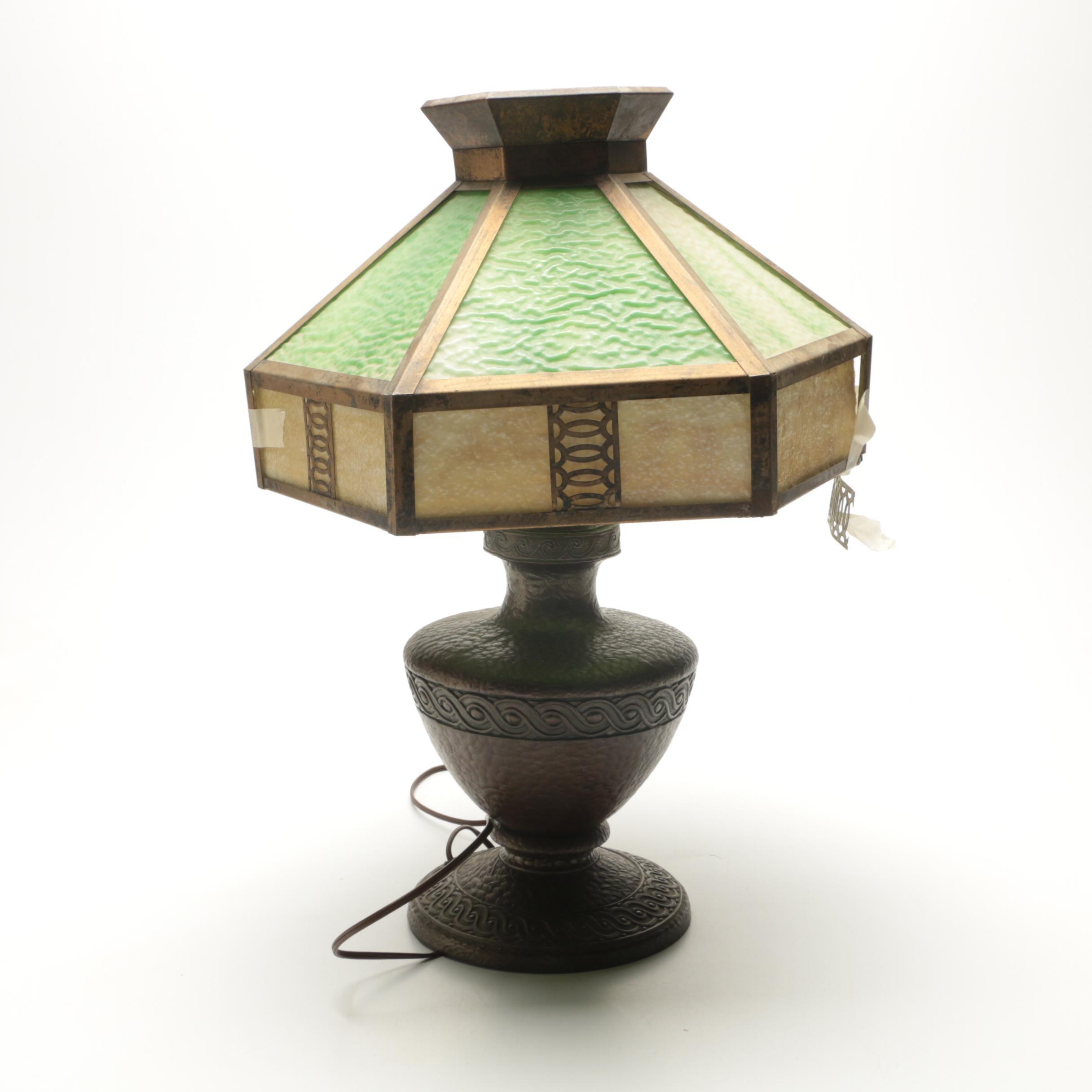 Vintage Classique Cast Bronze Table Lamp