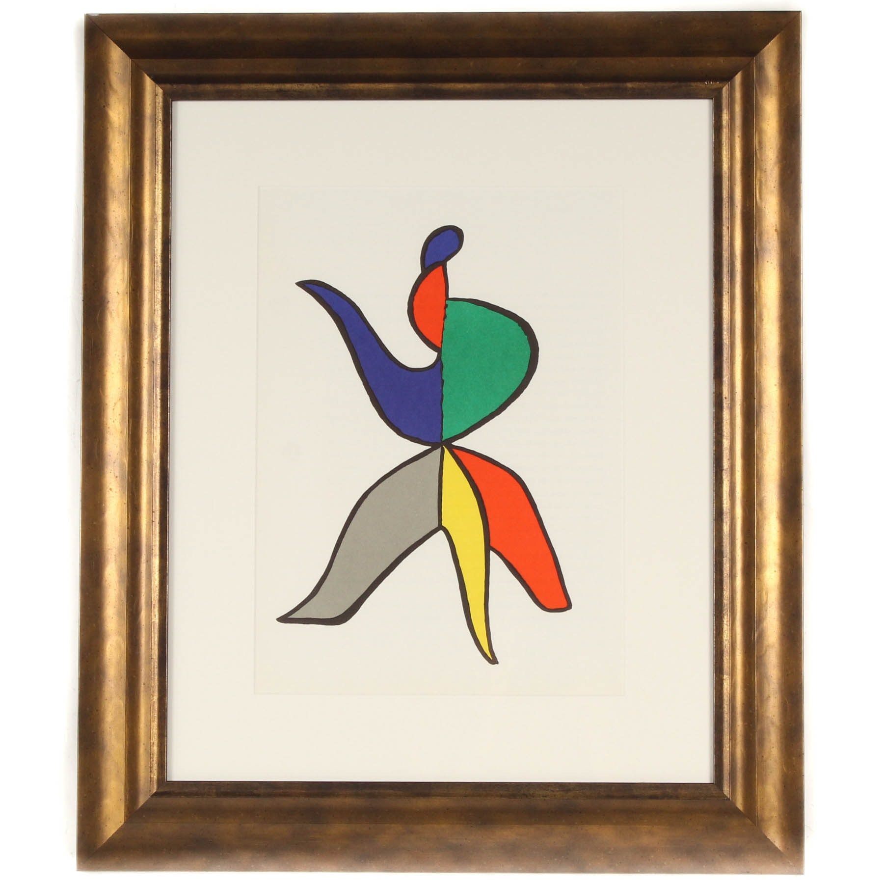 "Alexander Calder 1963 Color Lithograph for ""Derrier Le Miroir"" #141"