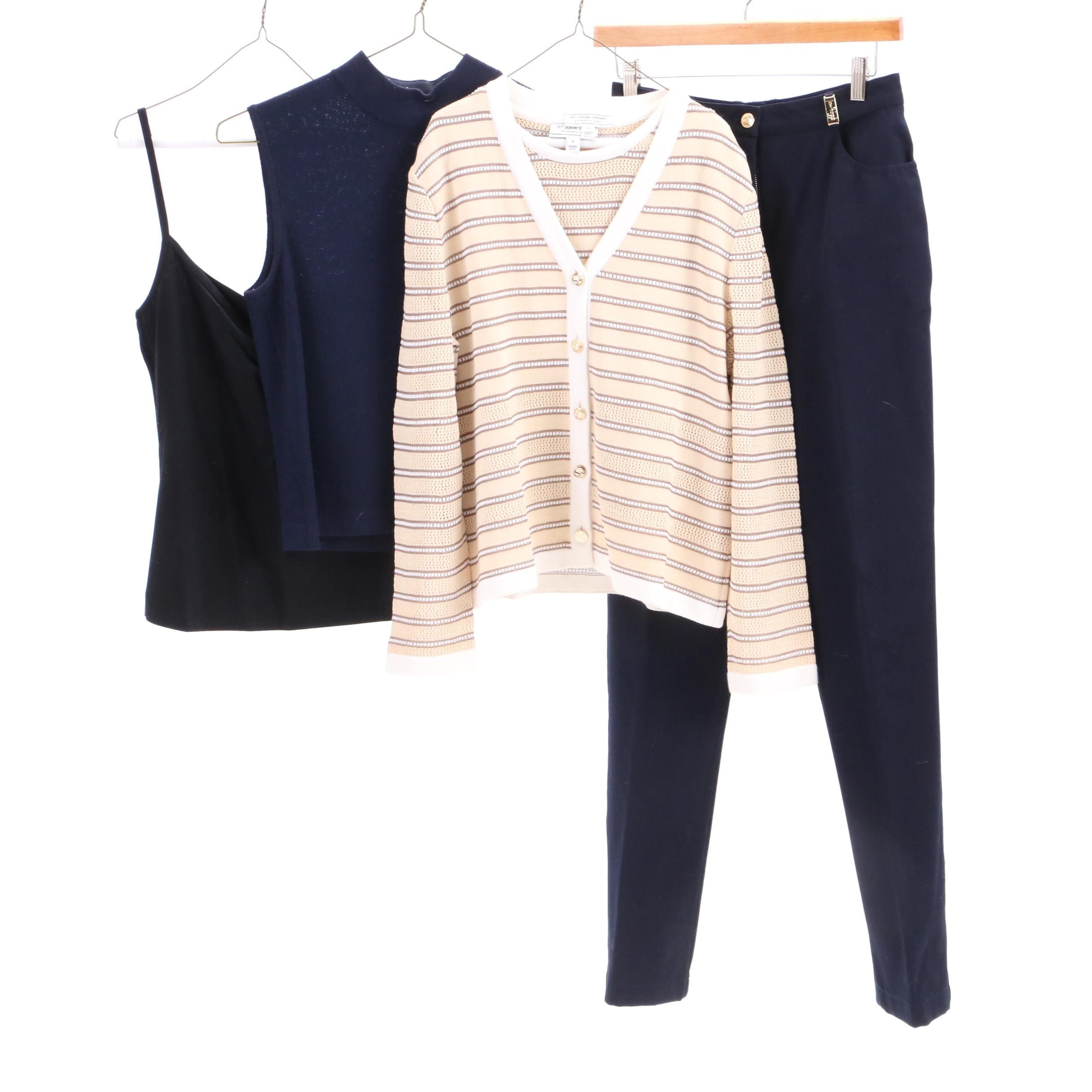 St. John Sport and Basics Clothing Separates