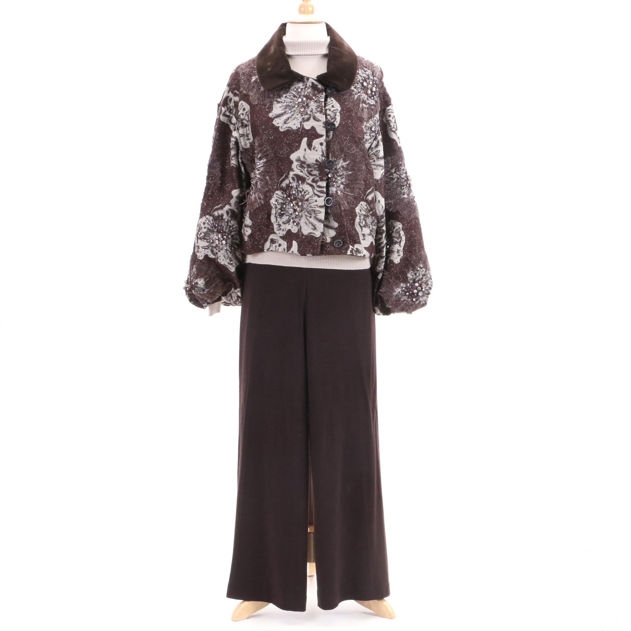 Carolina Herrera Embellished Jacket and Other Clothing Separates