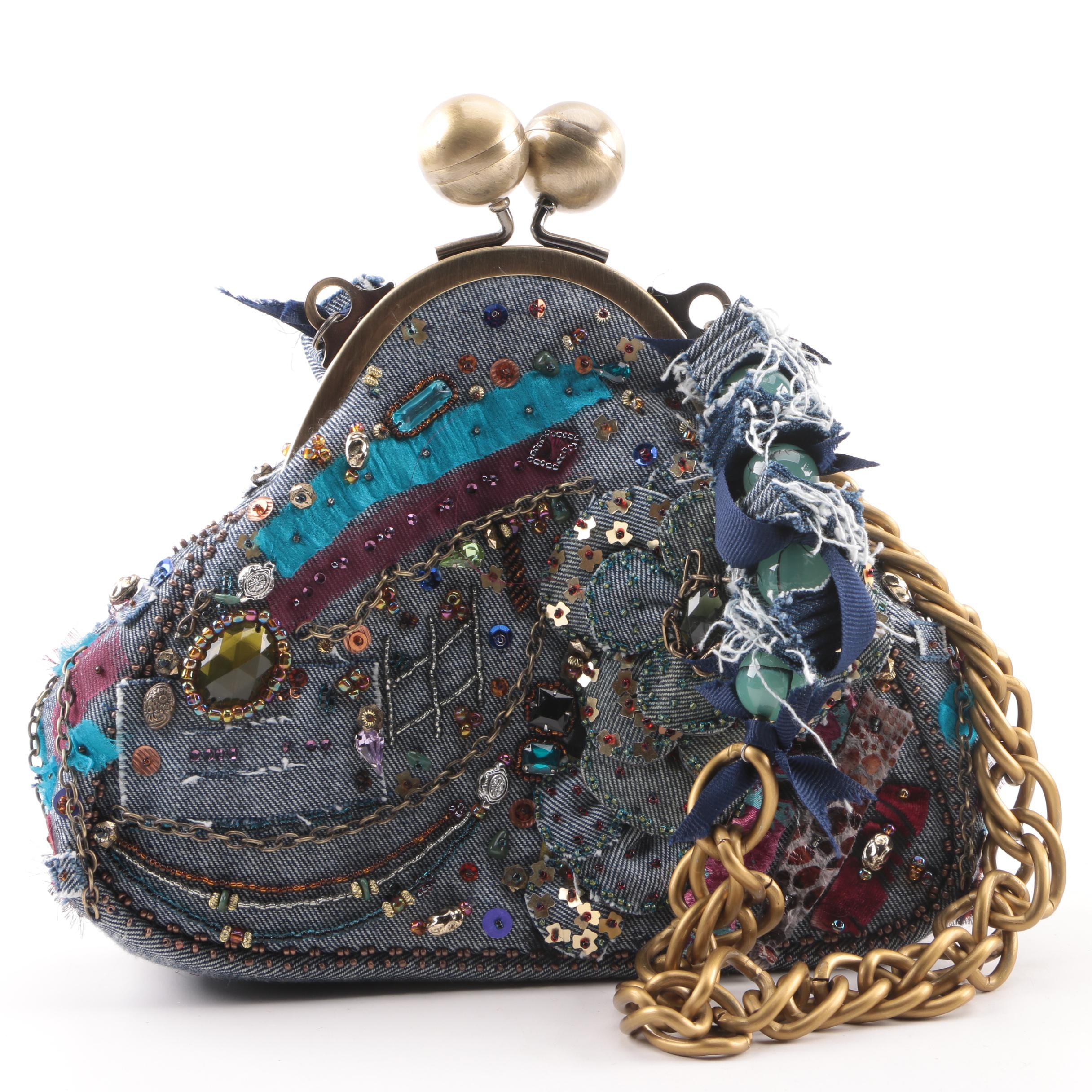 "Mary Frances of San Francisco ""In The 80s"" Embellished Handbag"