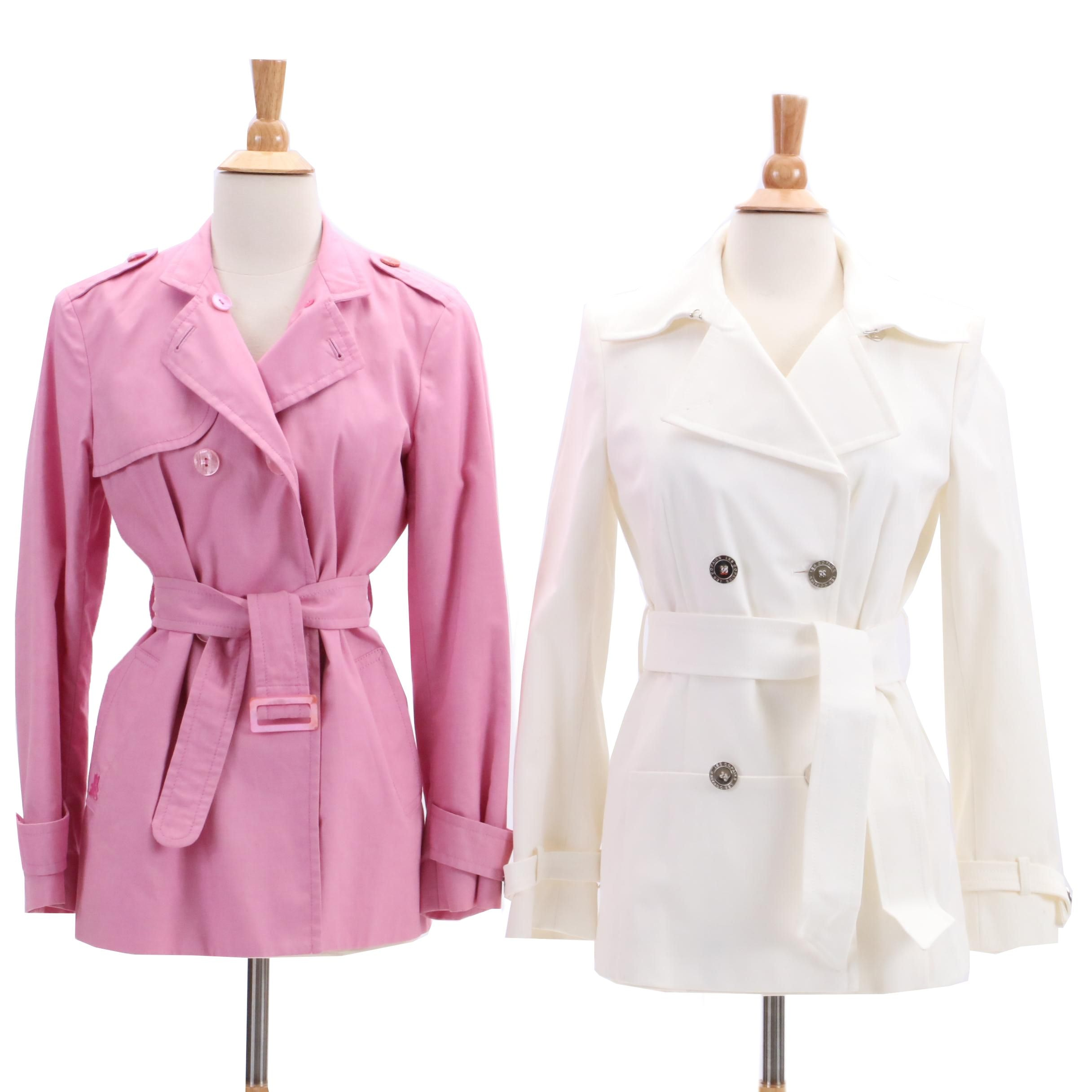 Agnona and Les Copains Trench Jackets