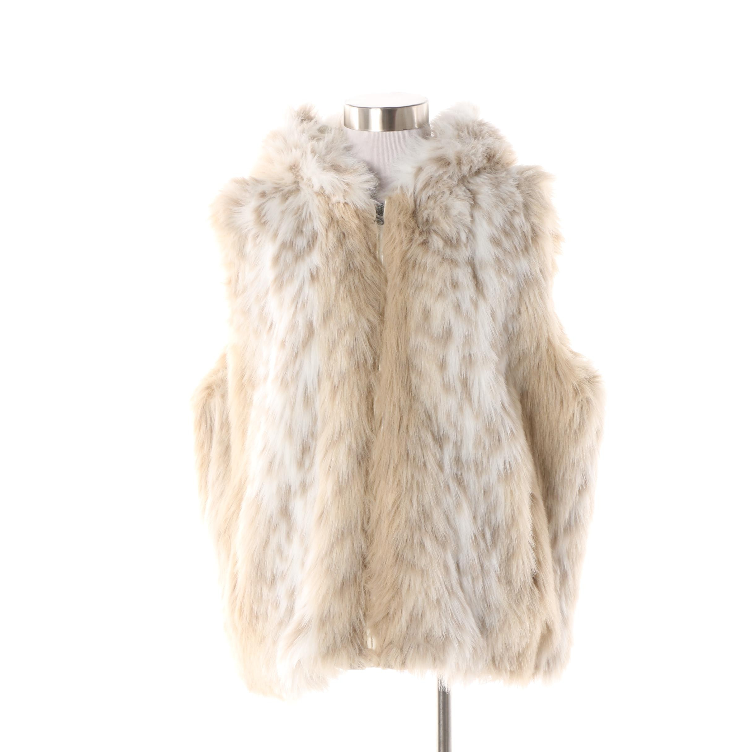 Women's Montanaco Reversible Faux Fur Hooded Vest