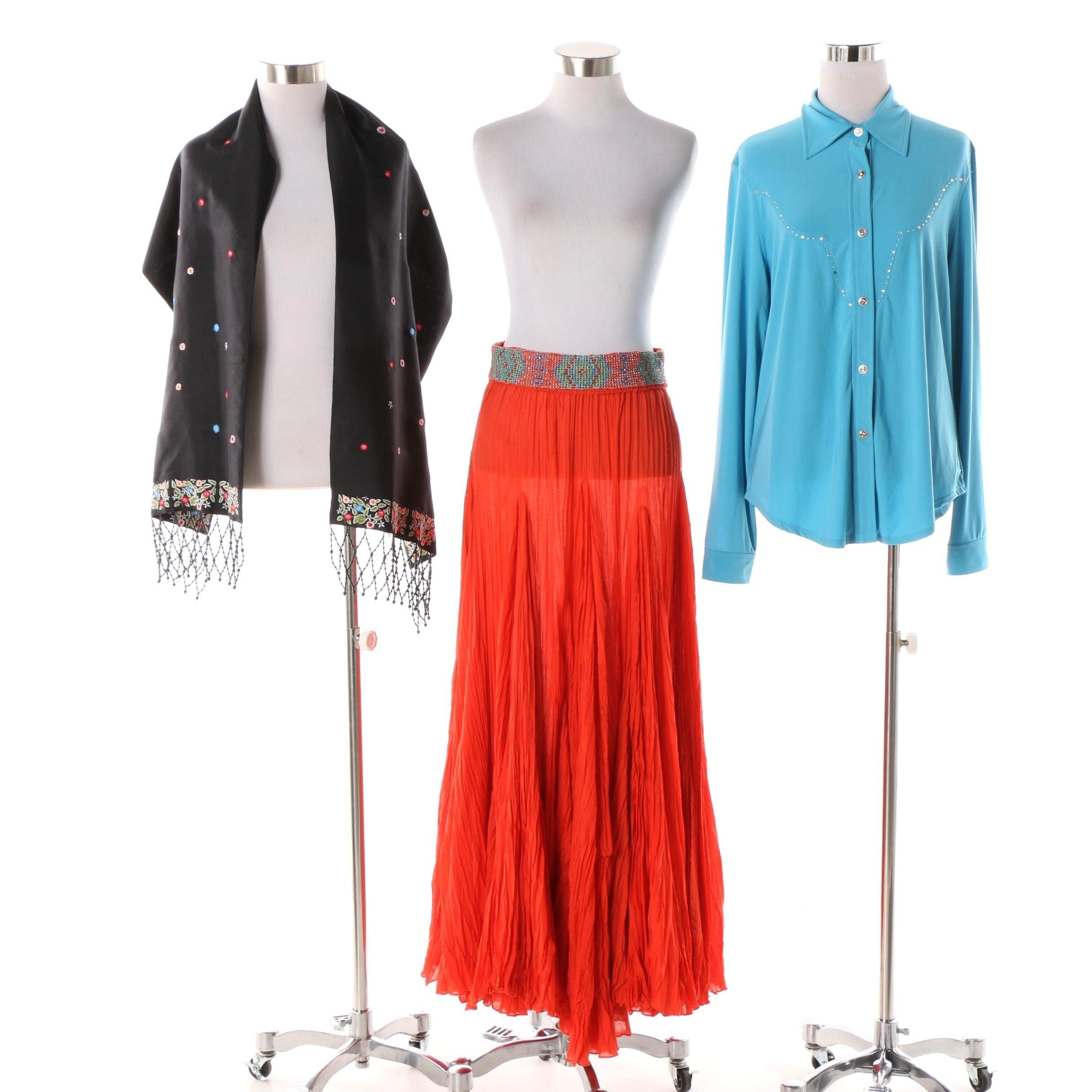 Sandy Starkman and Western Ethics Western Style Embellished Clothing