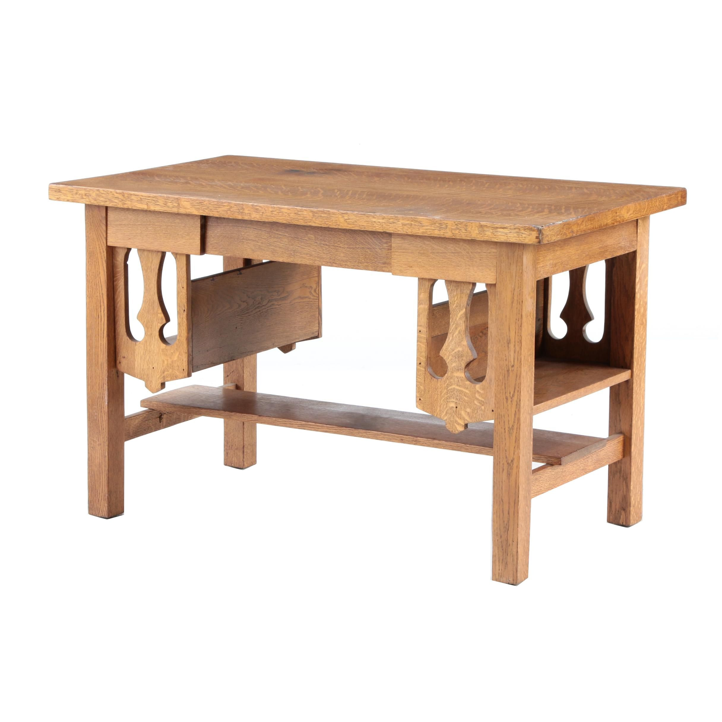 Arts and Crafts Style Desk