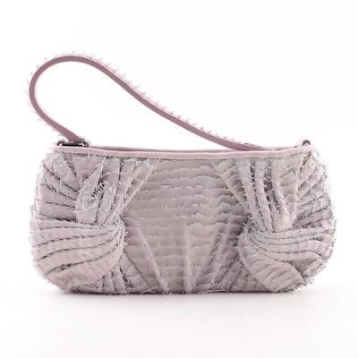 4db99266ab4a Burberry Prorsum Sling Leather Eyelash Fringe Handbag