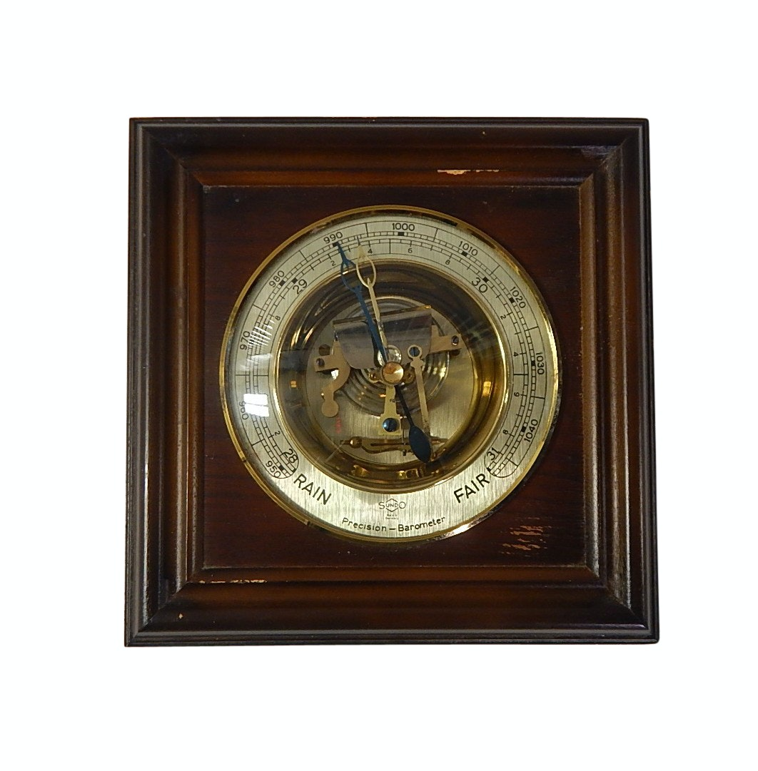 Vintage German Precision Barometer by Sundo