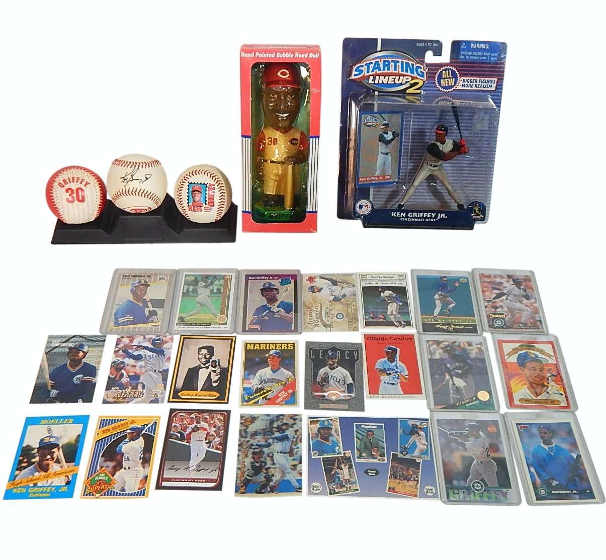 Ken Griffey Jr. Card and Memorabilia Collection