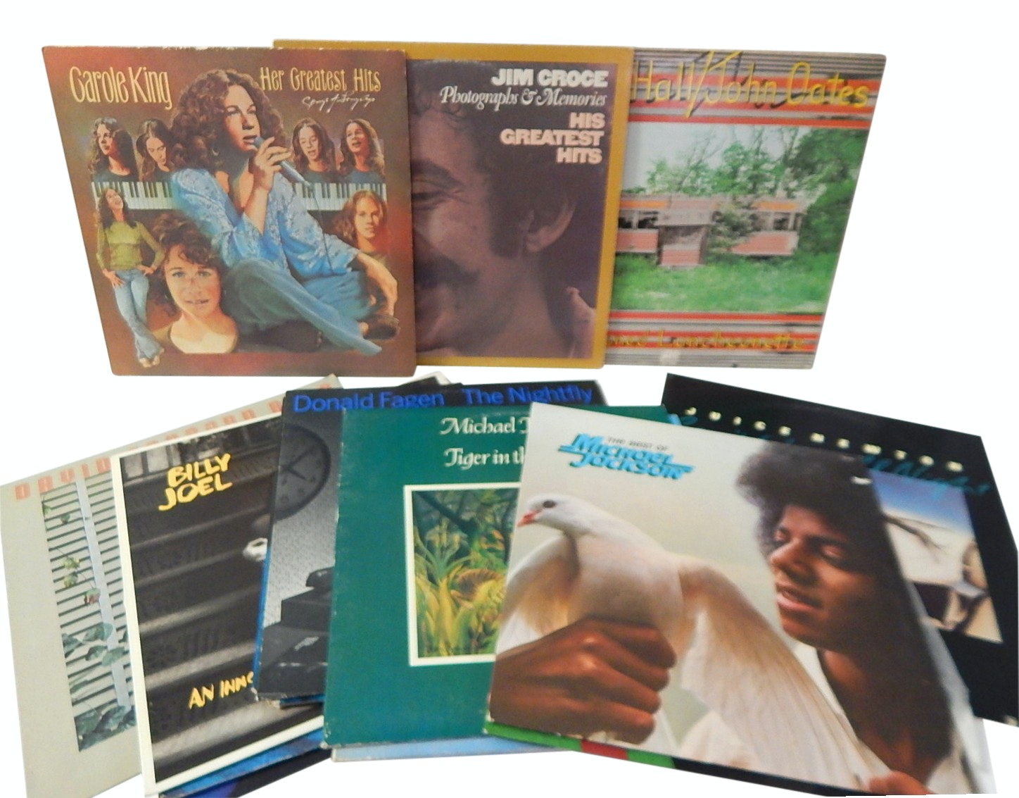 1970s and 1980s Soft Rock/Classic Rock 33 RPM Record Albums