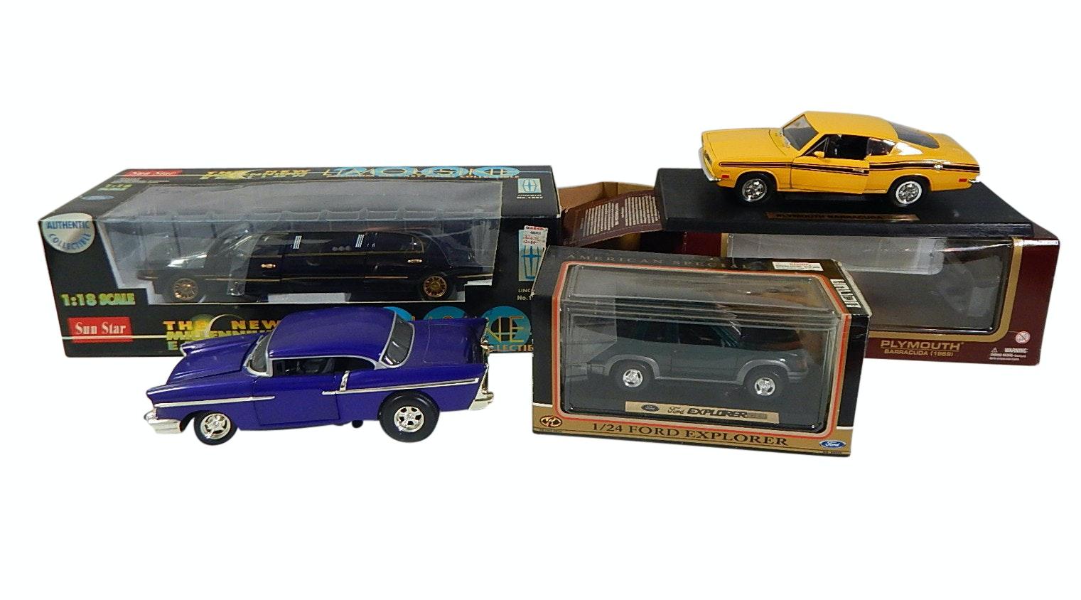 Die Cast Car Collection