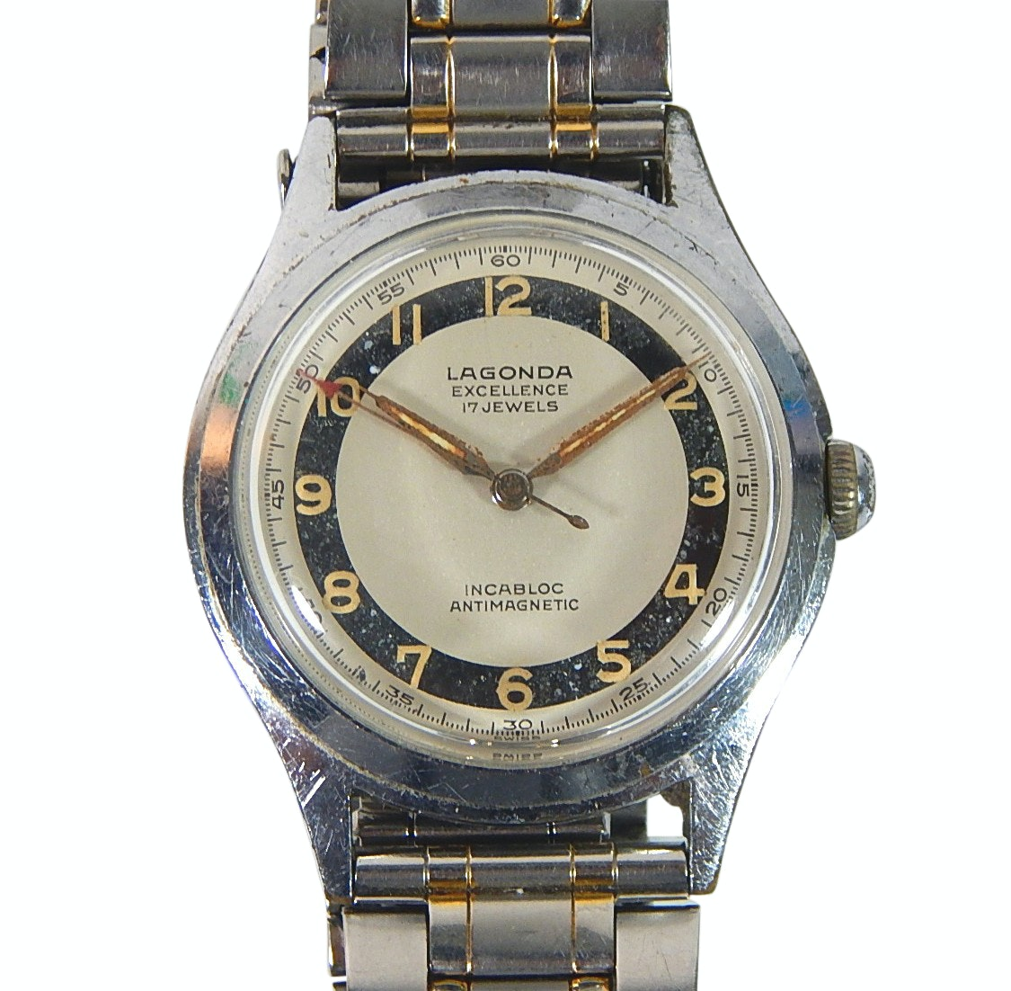 Lagonda Excellence 17 Jewel Incabloc Swiss Wristwatch