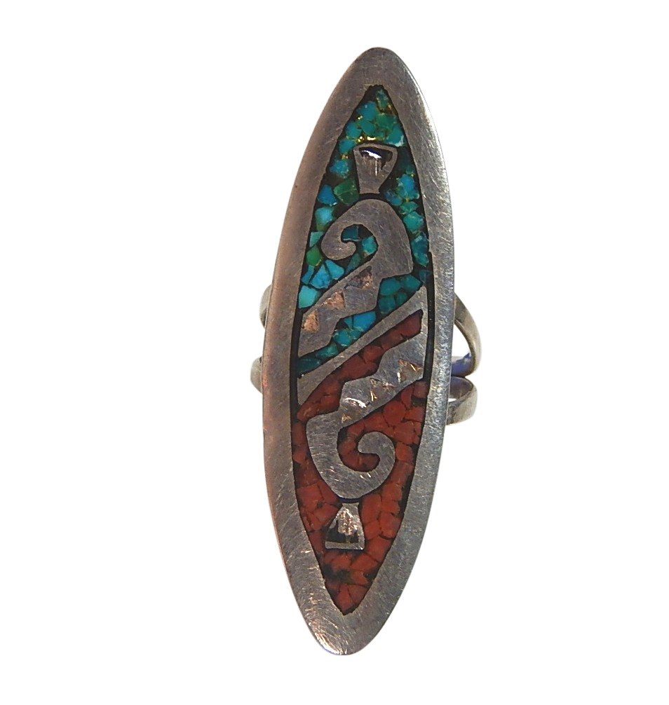 Sterling Silver Ring Turquoise Ring