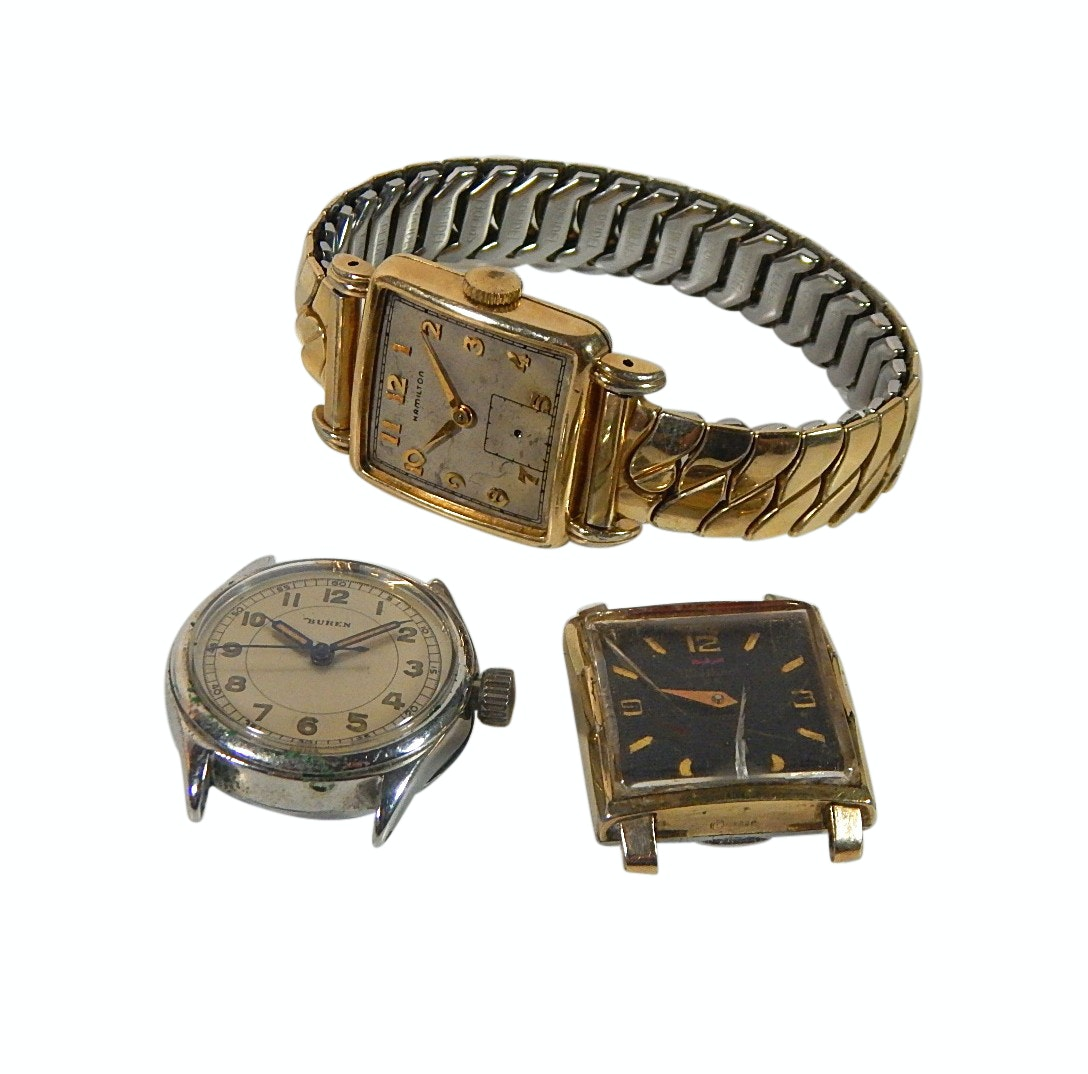 Hamilton Wristwatch and Watch Parts