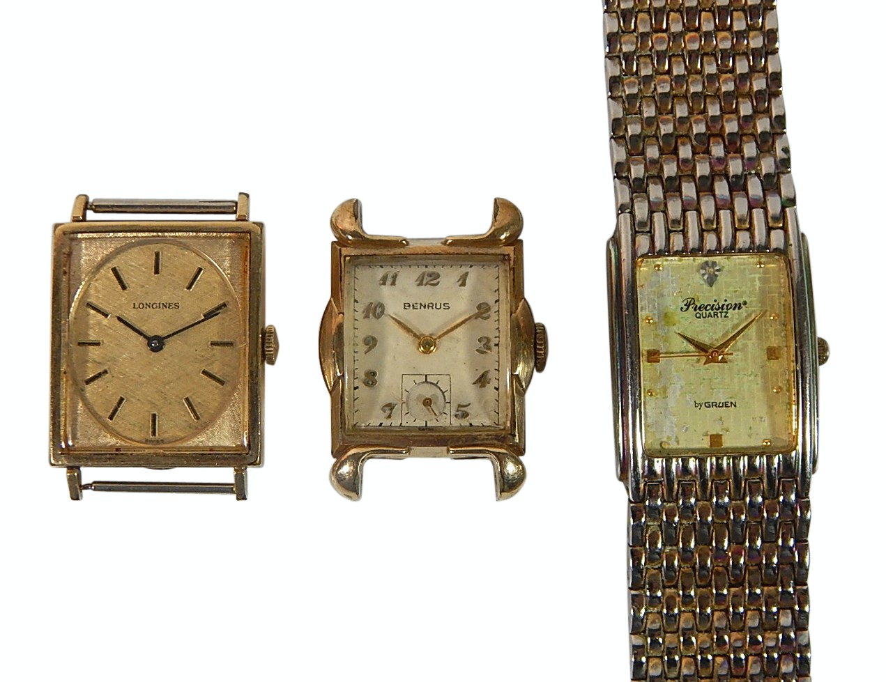 Wristwatch Faces and Parts for Repair