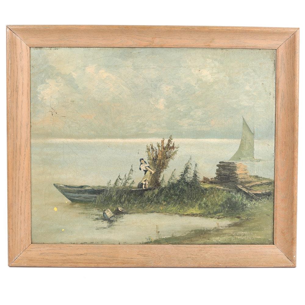Dihlmann Oil Painting Landscape