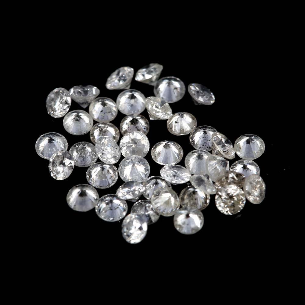 Loose 0.75 CTW Round Diamonds Melee