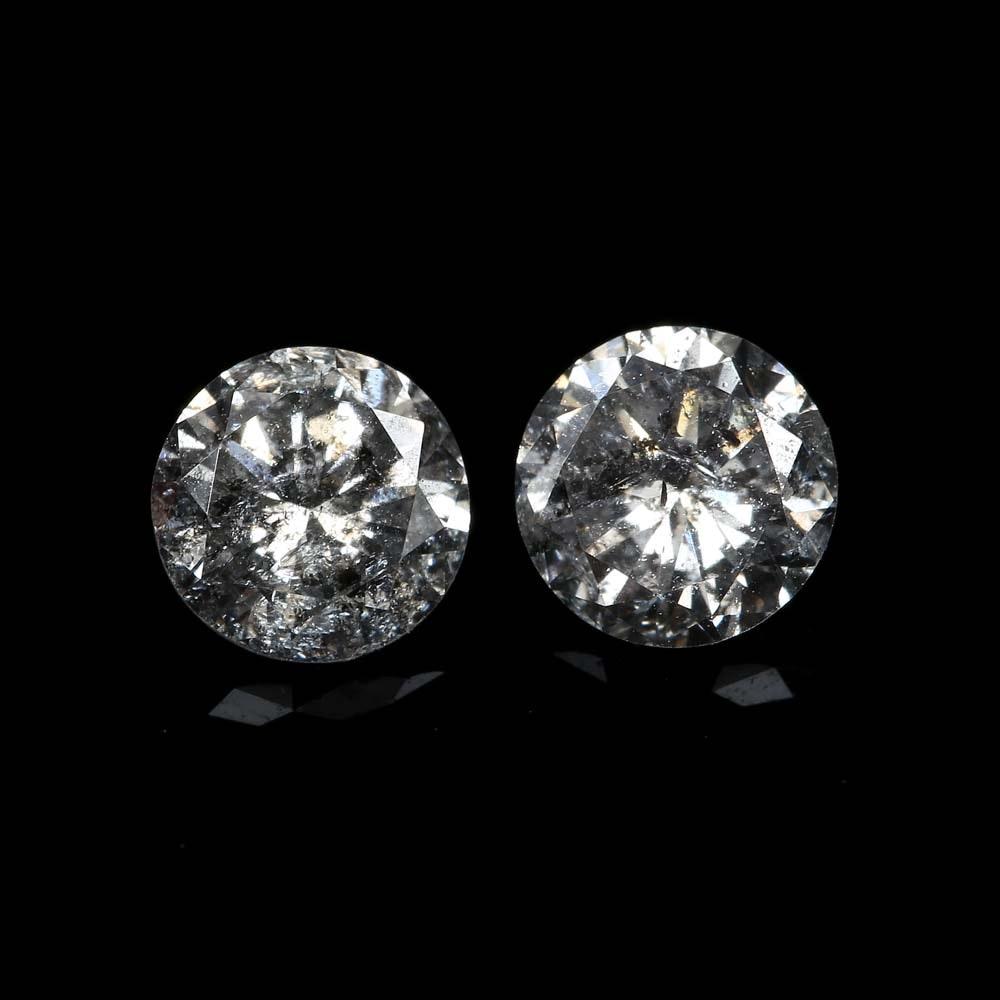 Loose 0.72 CTW Round Diamonds