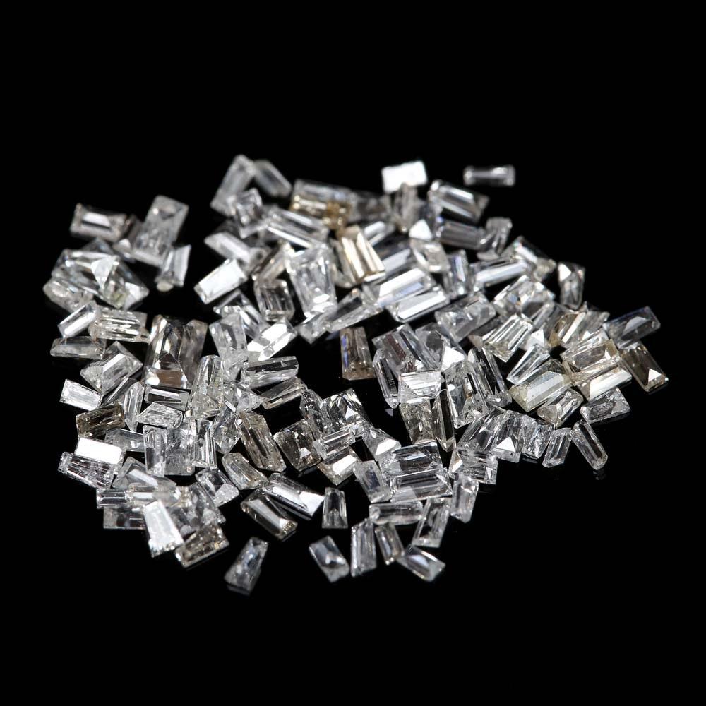Loose 1.50 CTW Baguette Diamonds Melee