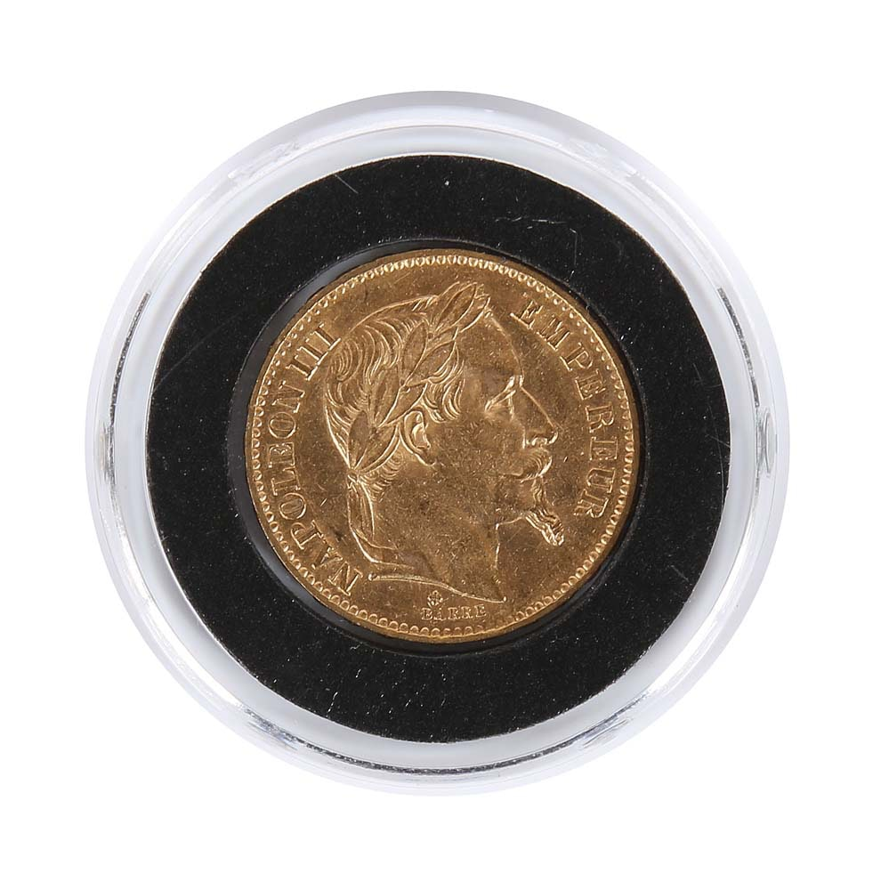 1868-BB France 20 Francs Gold Coin