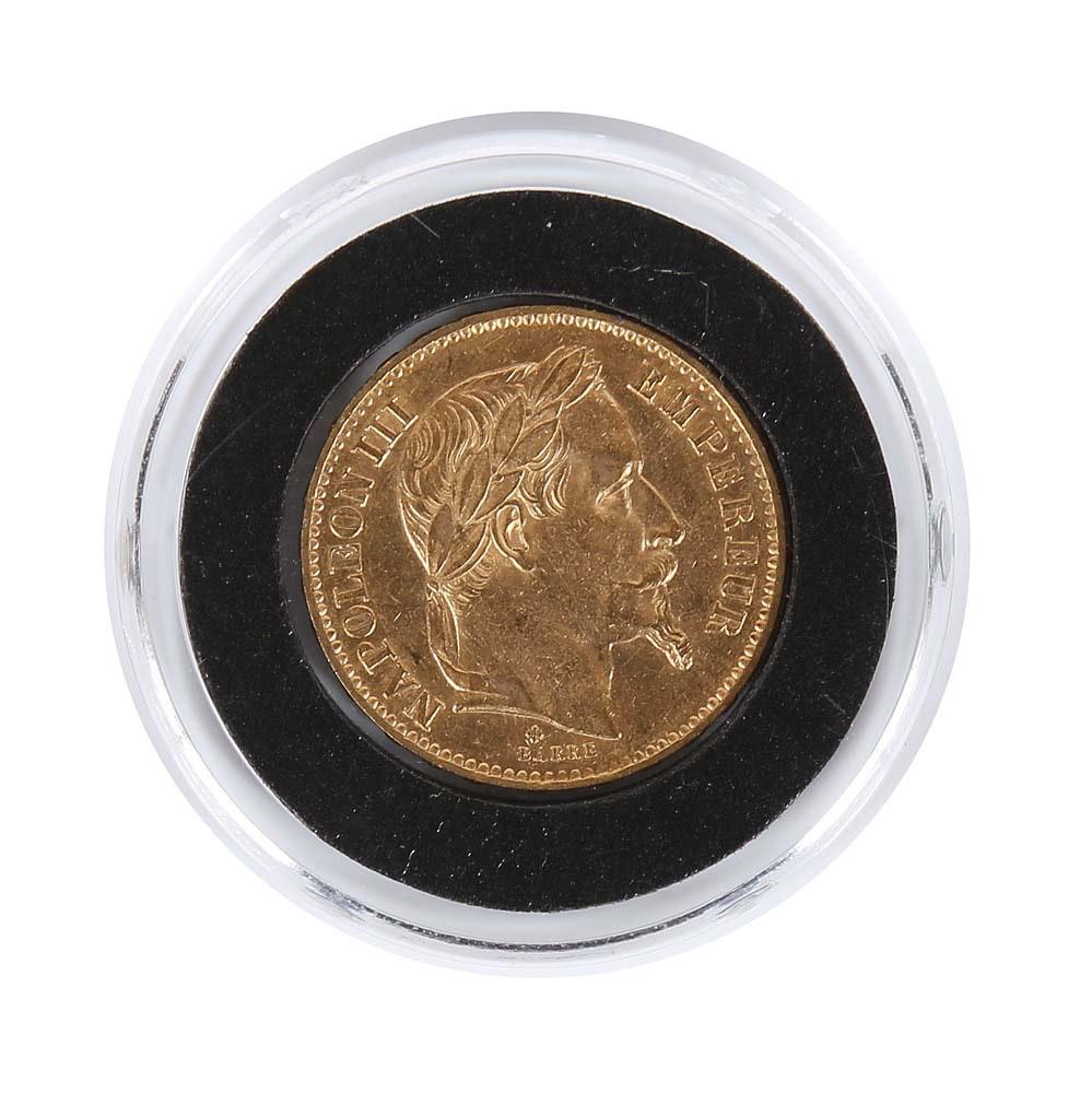 1868-BB France 20 Francs Gold Coin