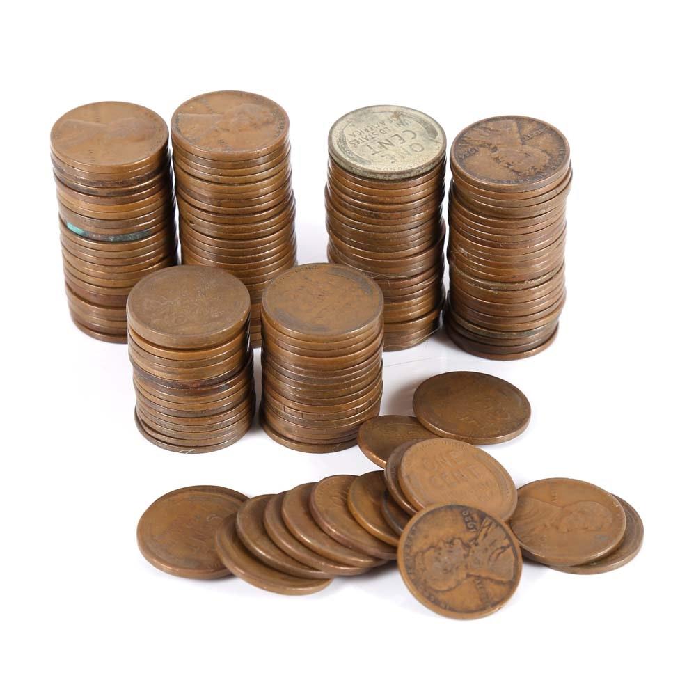 150 1920-1920 Wheat Pennies