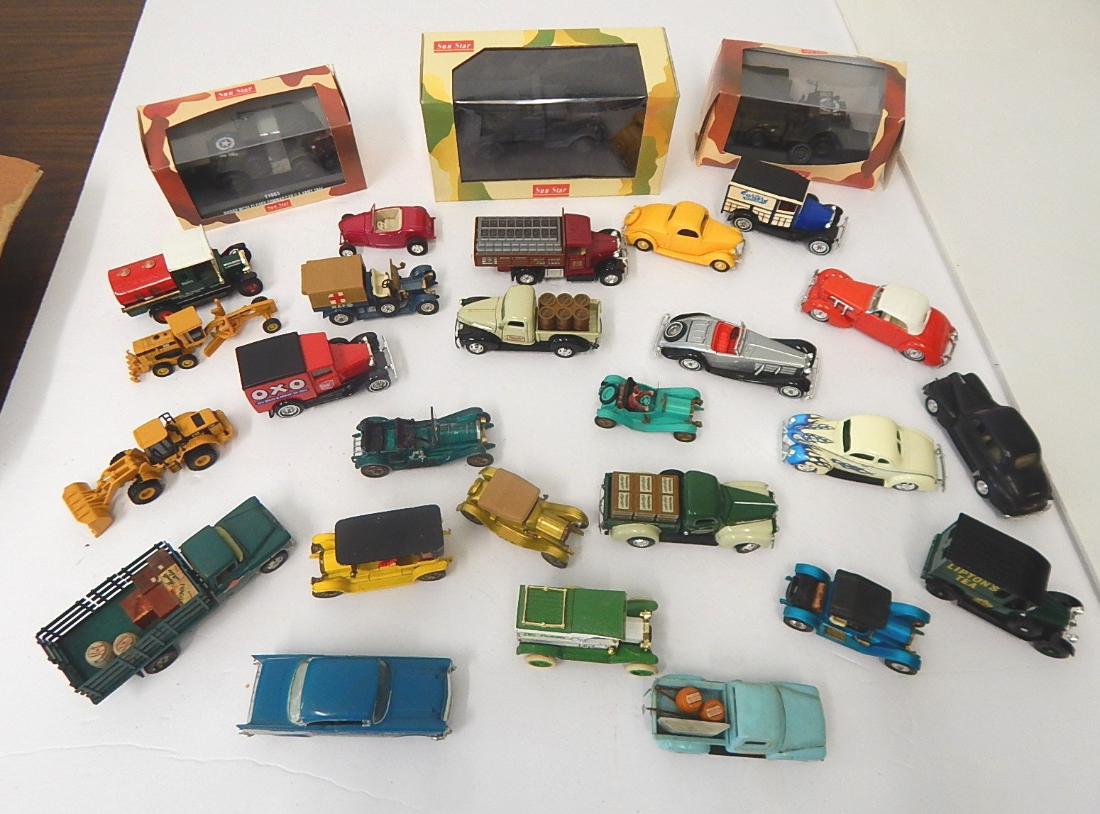 Die Cast Vehicle Lot from 1960s thru 2000s - 28 Count Lot