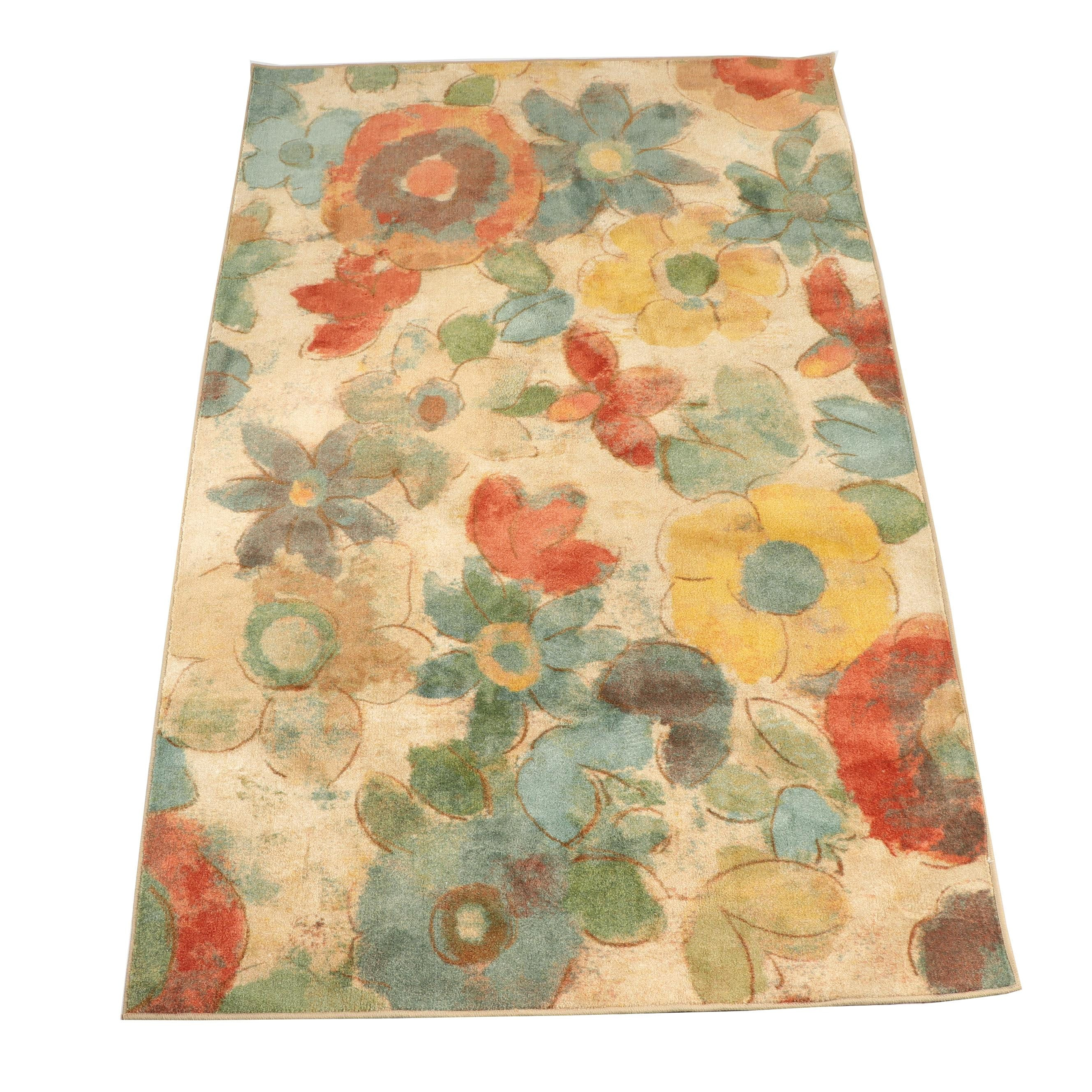 "Power-Loomed Mohawk Home ""Wildflower"" Area Rug"