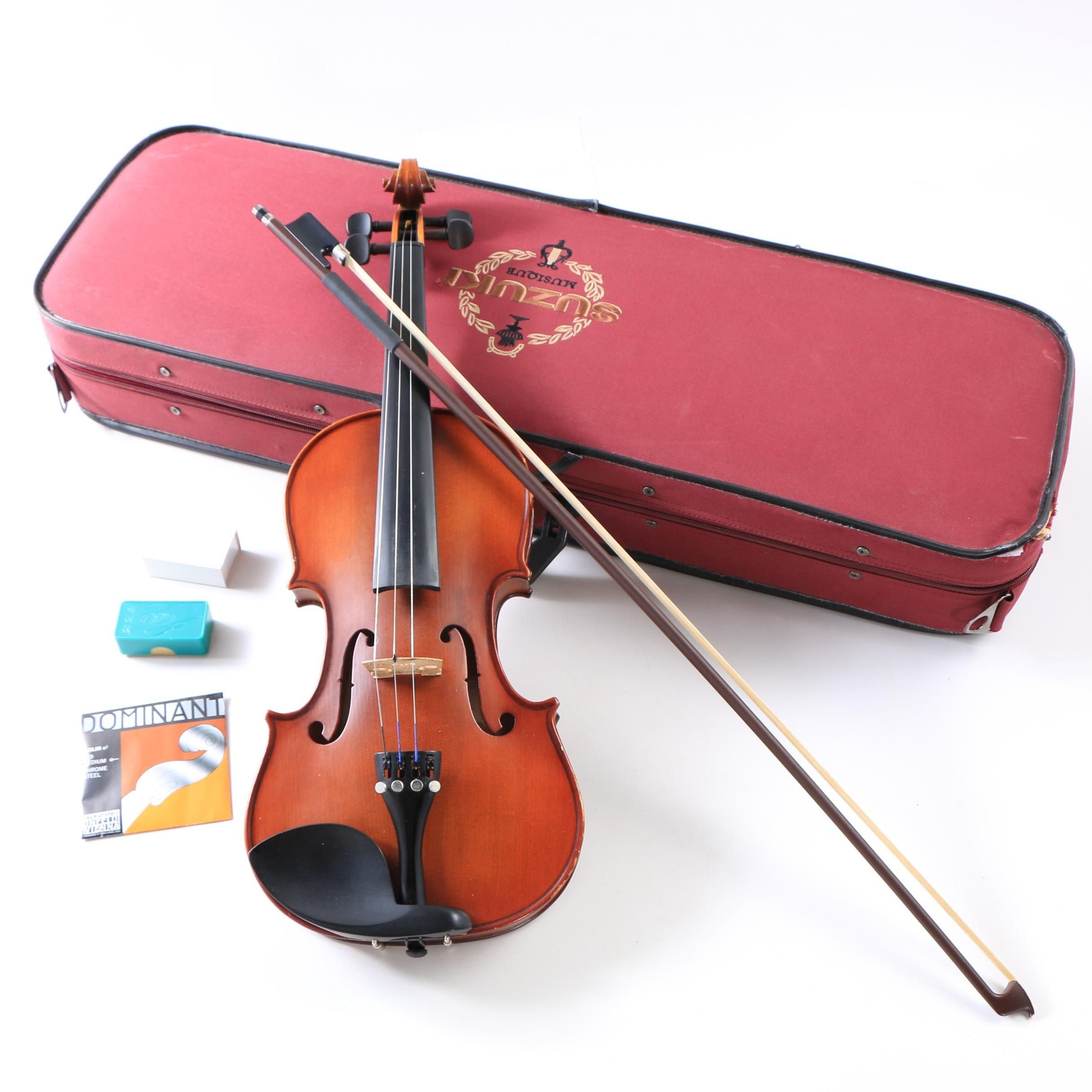 Suzuki Musique 4/4 Student Violin