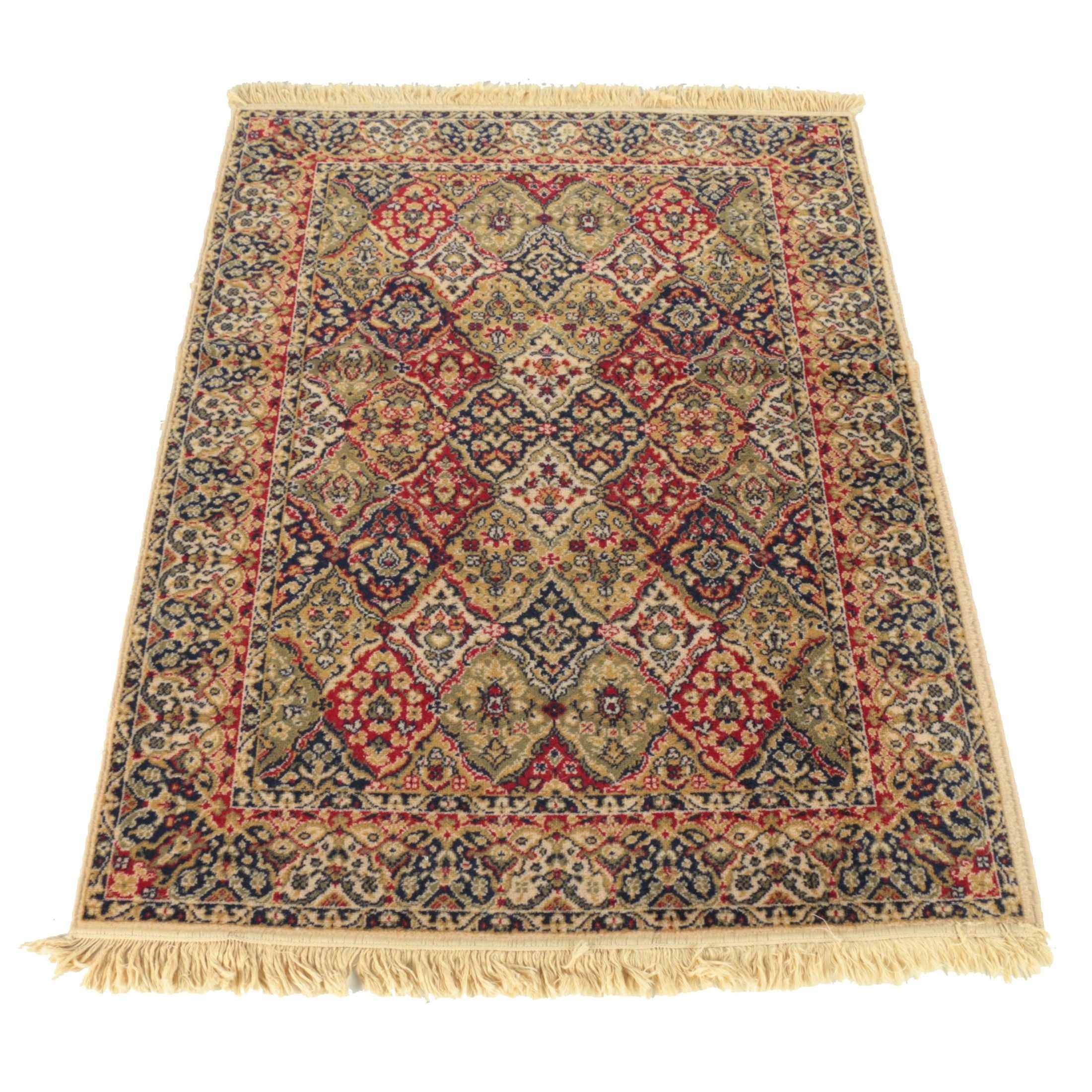 Power-Loomed Persian Style Area Rug