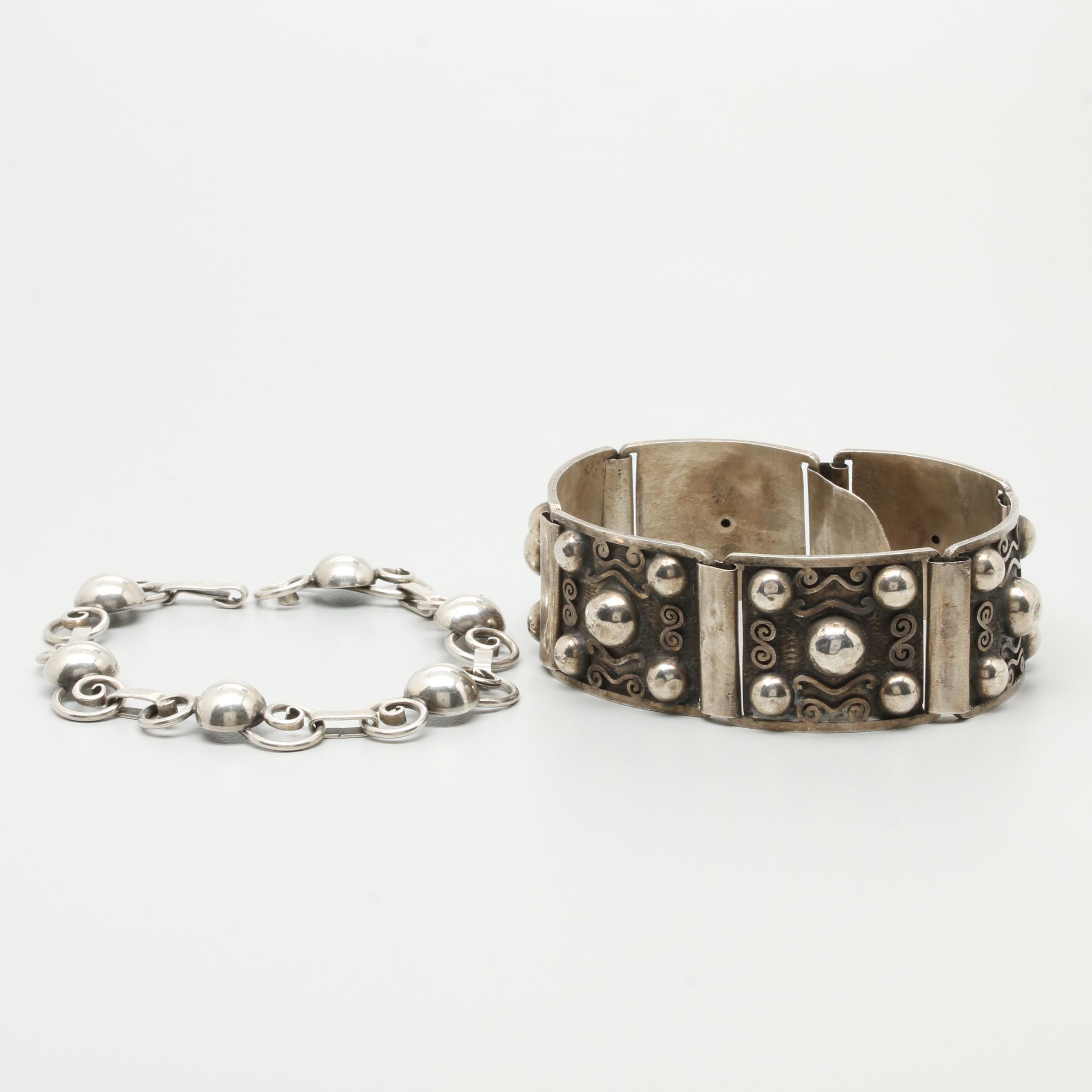 900 and Sterling Silver Bracelets