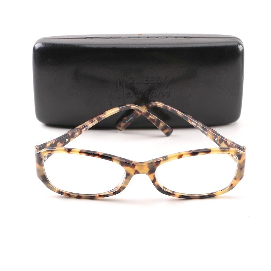 121da2c44b5 Guess by Marciano GM142 Tortoiseshell Style Prescription Eyeglasses with  Case   EBTH