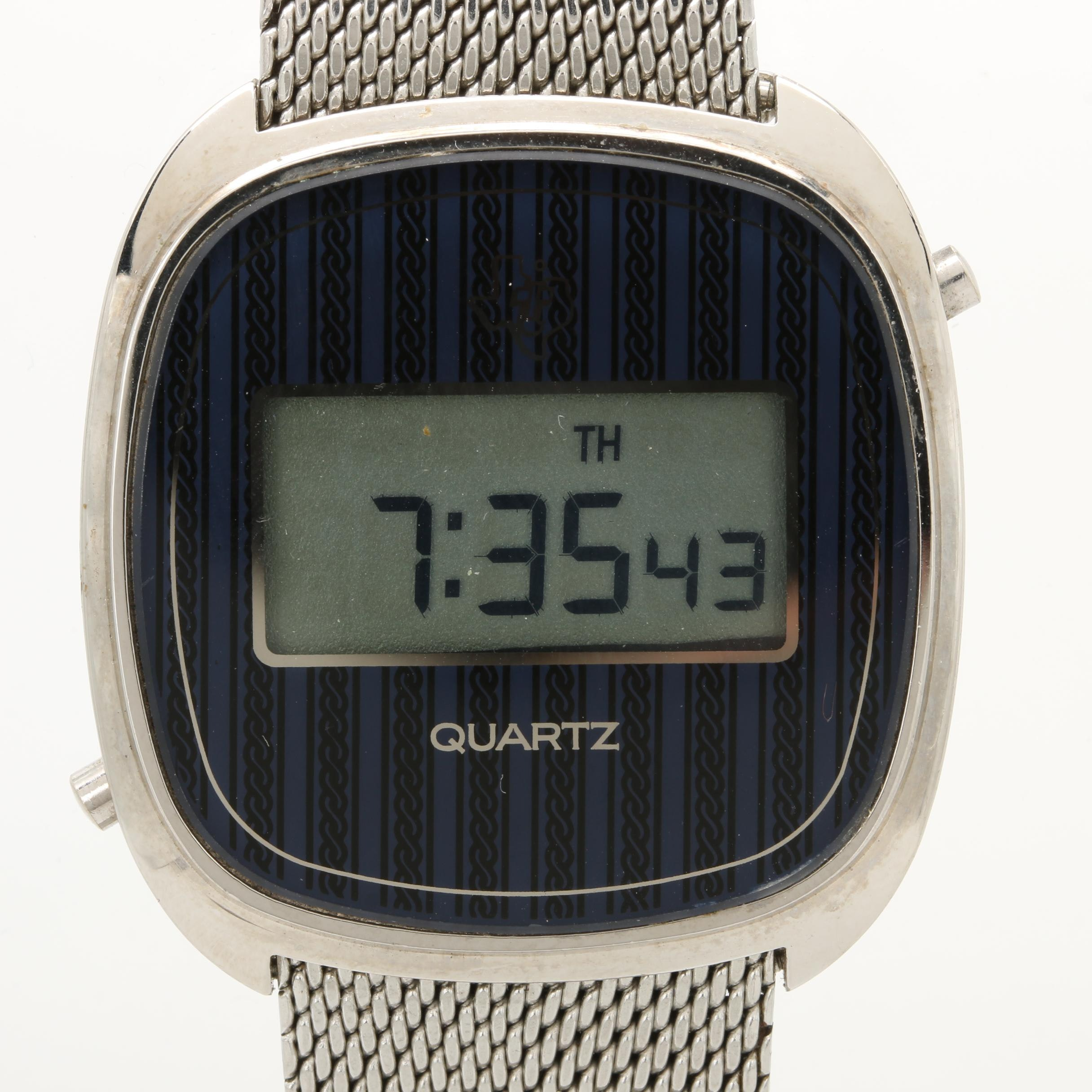 Texas Instruments Digital Quartz Wristwatch
