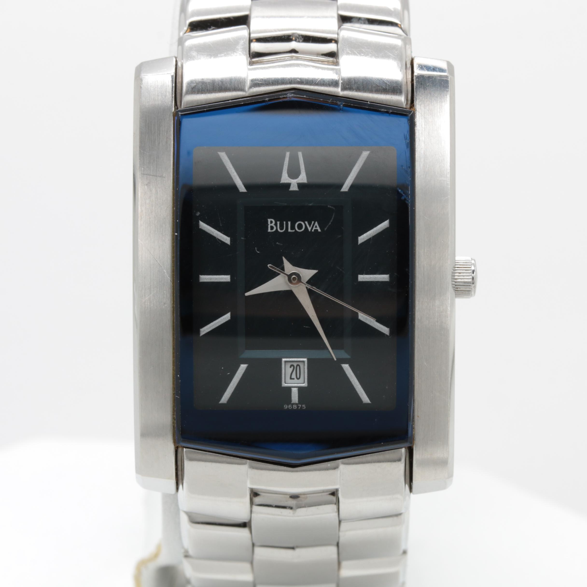 Bulova Stainless Steel Wristwatch