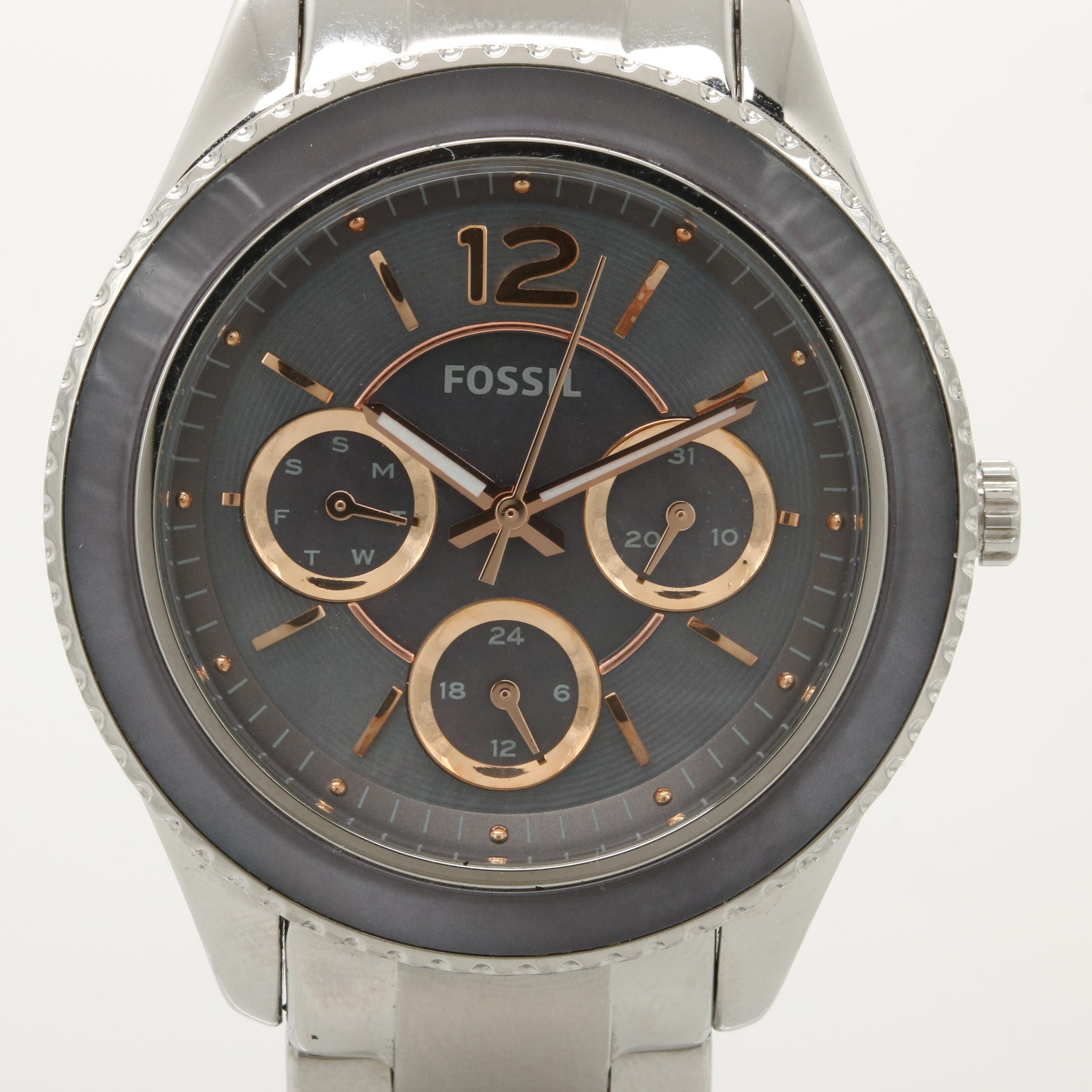 "Fossil ""Stella"" Multi-Function Quartz Wristwatch"