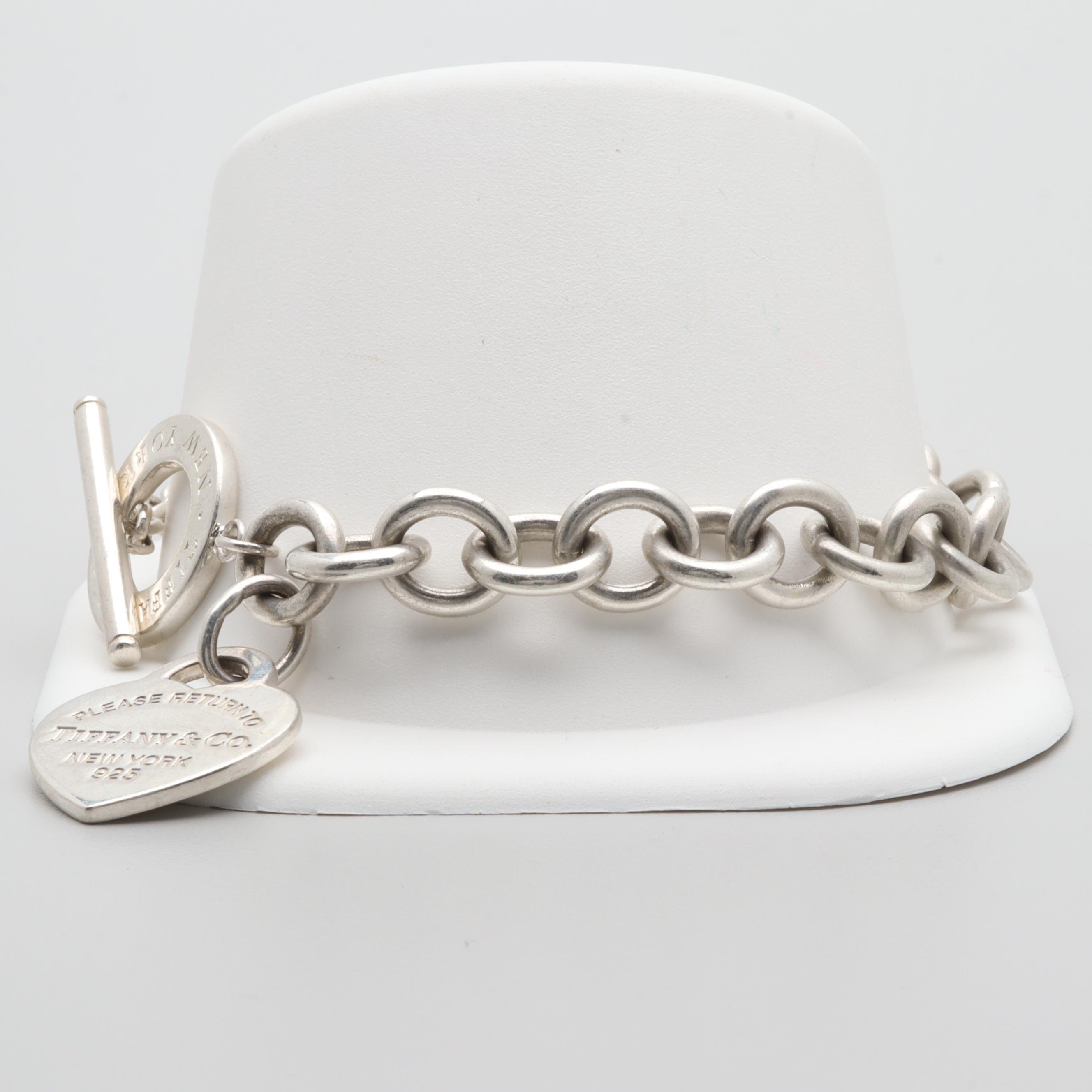 "Tiffany & Co. ""Return to Tiffany"" Sterling Silver Bracelet"