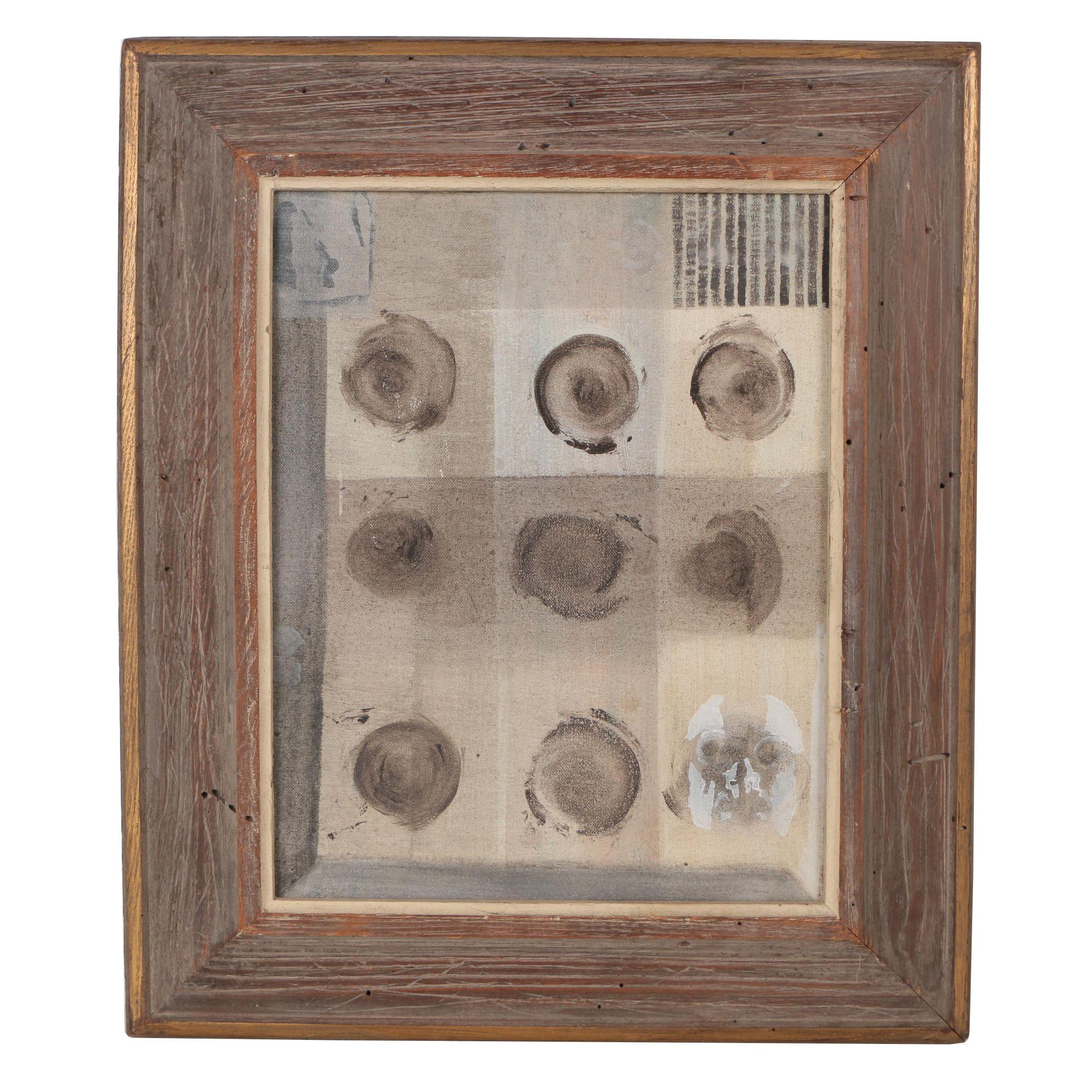 "David Wilson Acrylic Painting ""Gene Splice"""